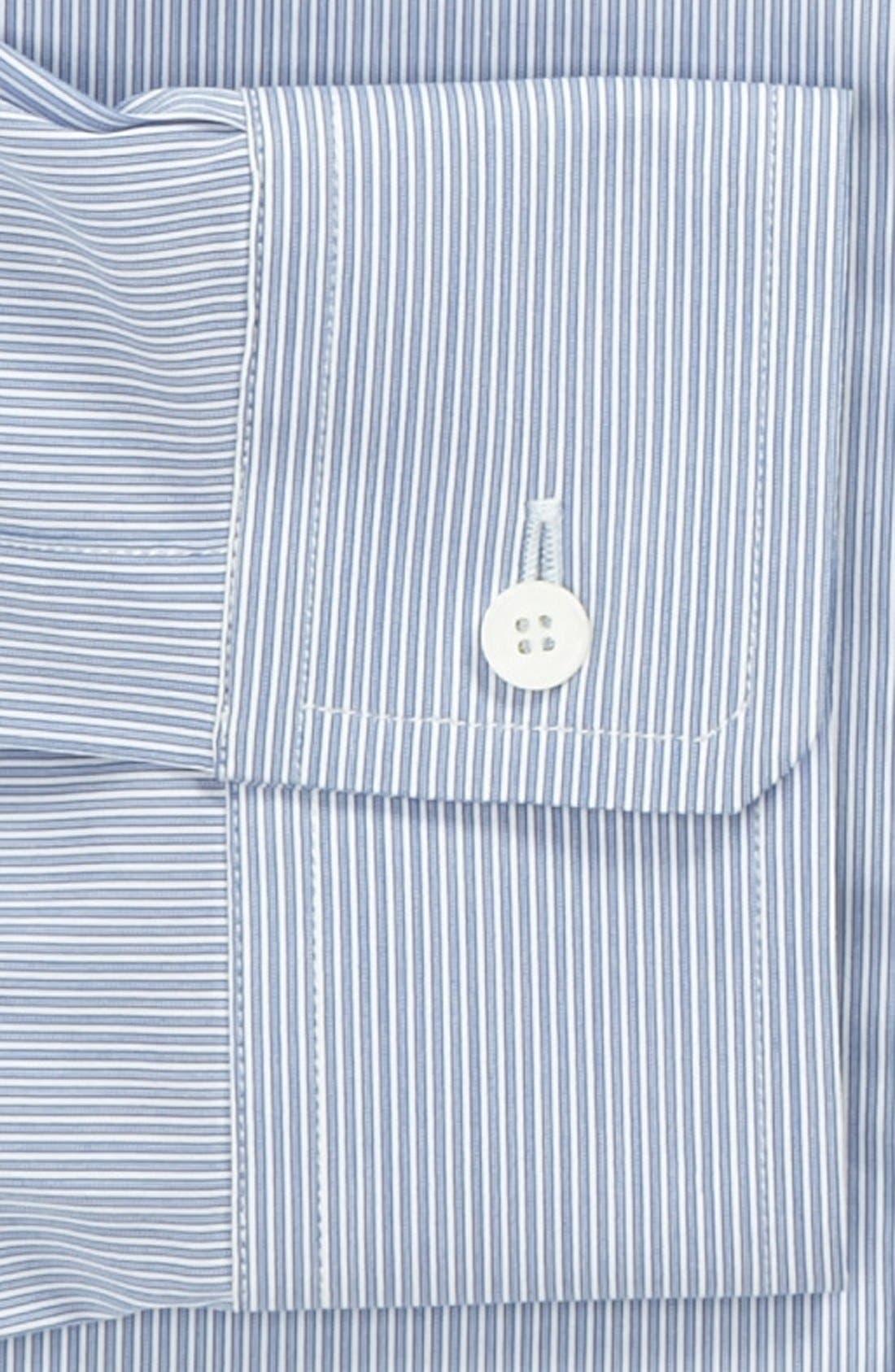 BURBERRY,                             London Stripe Tailored Fit Dress Shirt,                             Alternate thumbnail 2, color,                             426