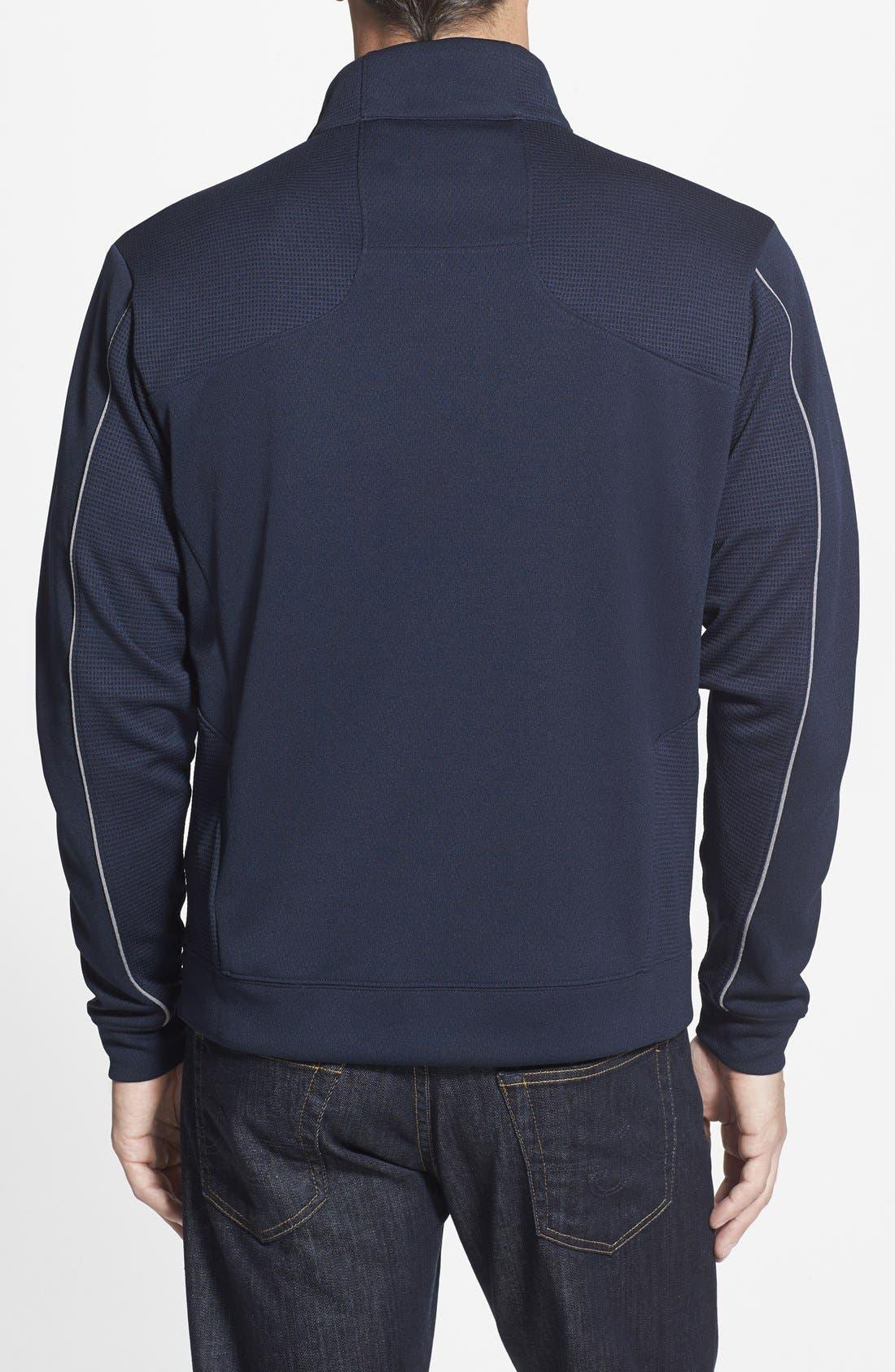 Seattle Seahawks - Edge DryTec Moisture Wicking Half Zip Pullover,                             Alternate thumbnail 3, color,