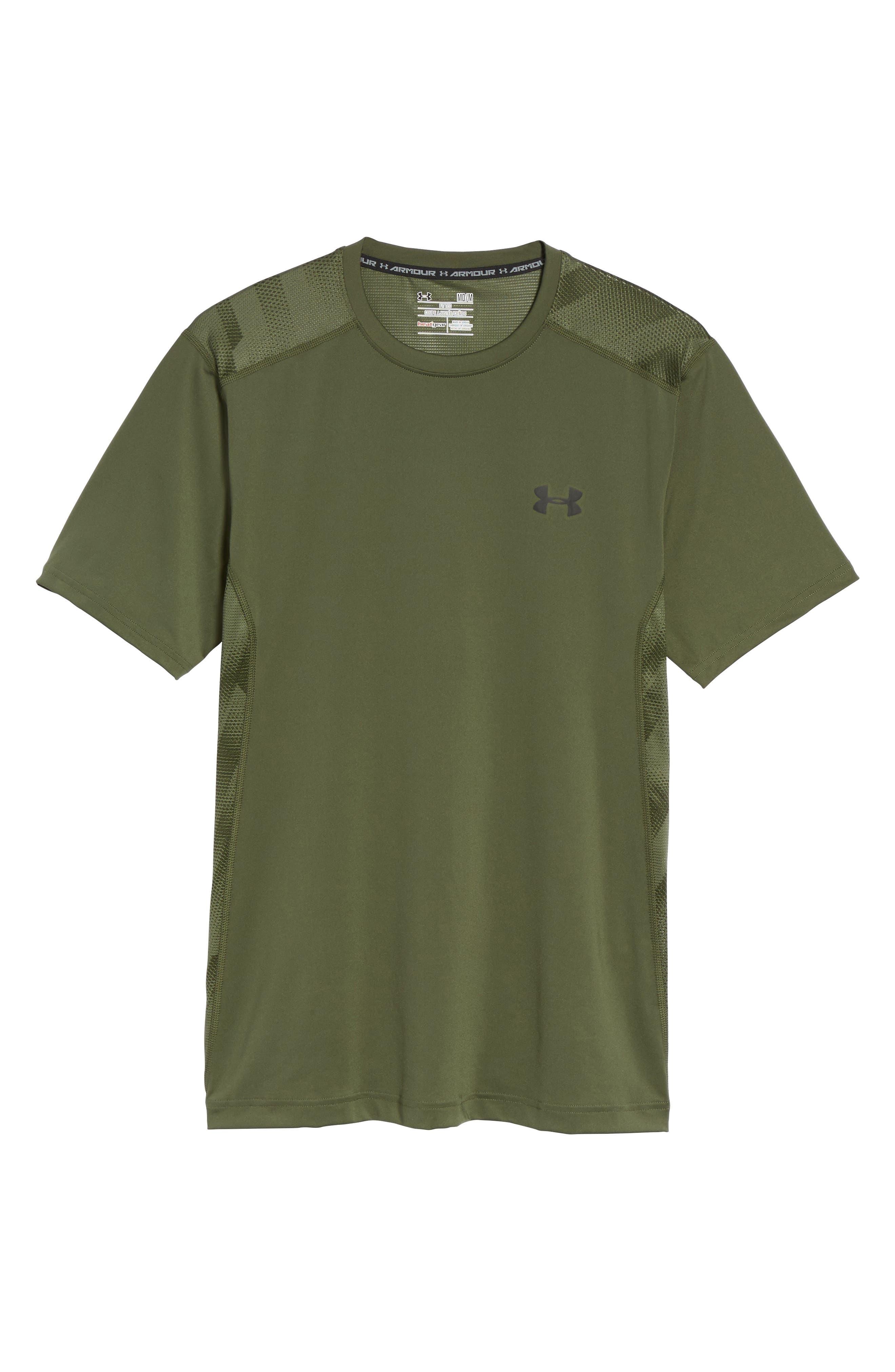 'Raid' HeatGear<sup>®</sup> Training T-Shirt,                             Alternate thumbnail 129, color,