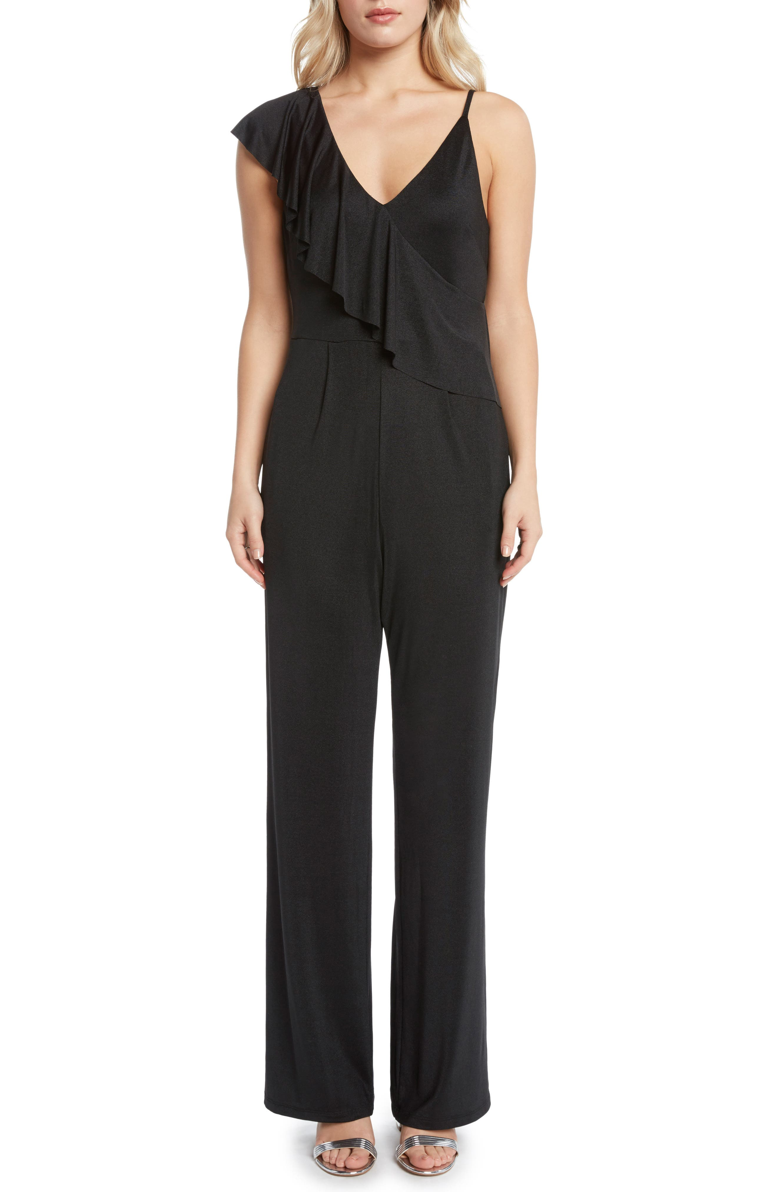 Ruffle Jumpsuit,                         Main,                         color,