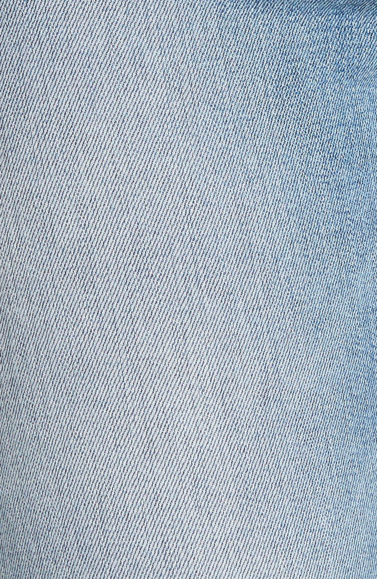 Bullocks Lace-Up High Waist Super Skinny Jeans,                             Alternate thumbnail 11, color,