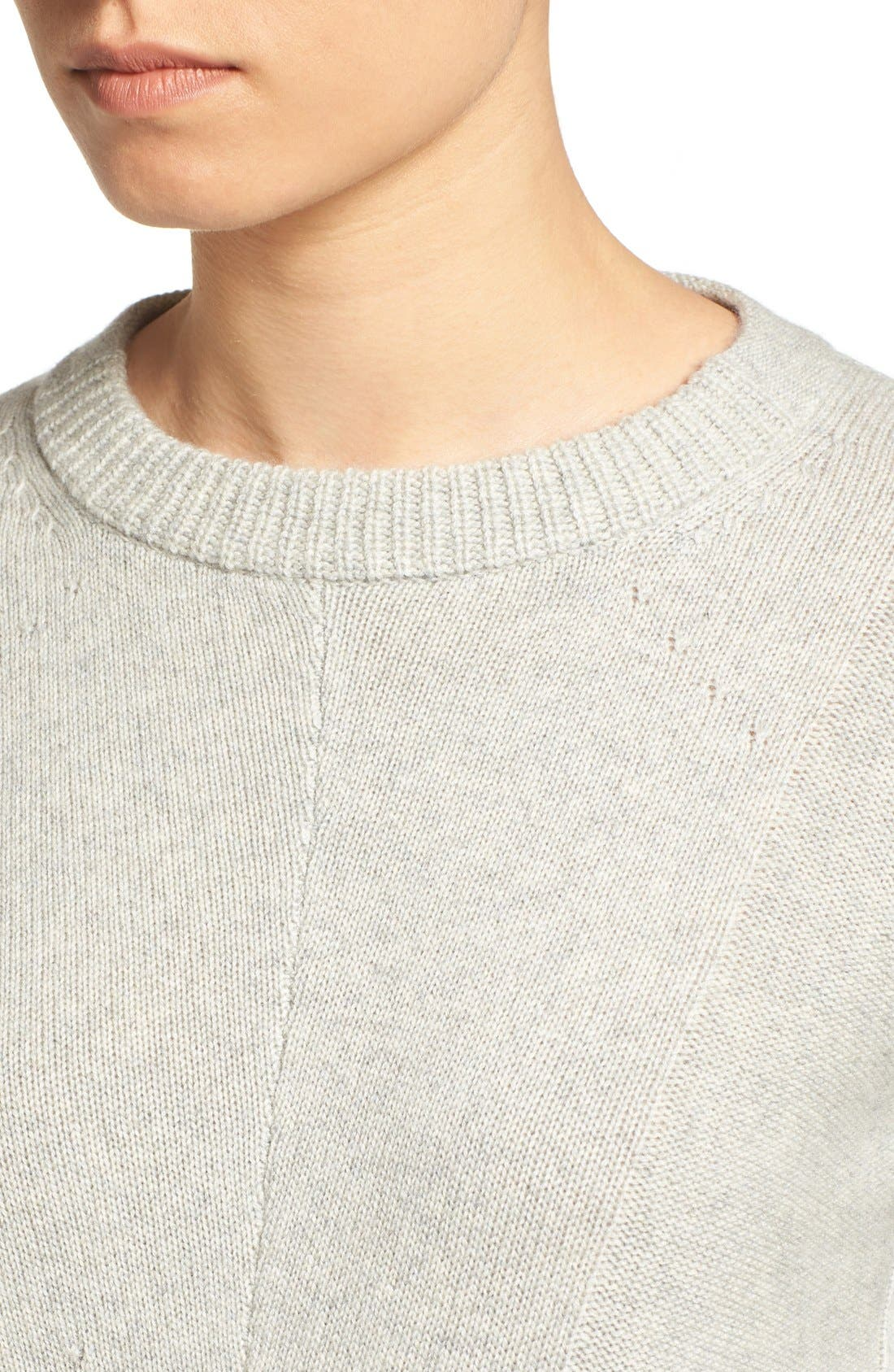 Joanna Wool & Cashmere Sweater,                             Alternate thumbnail 4, color,