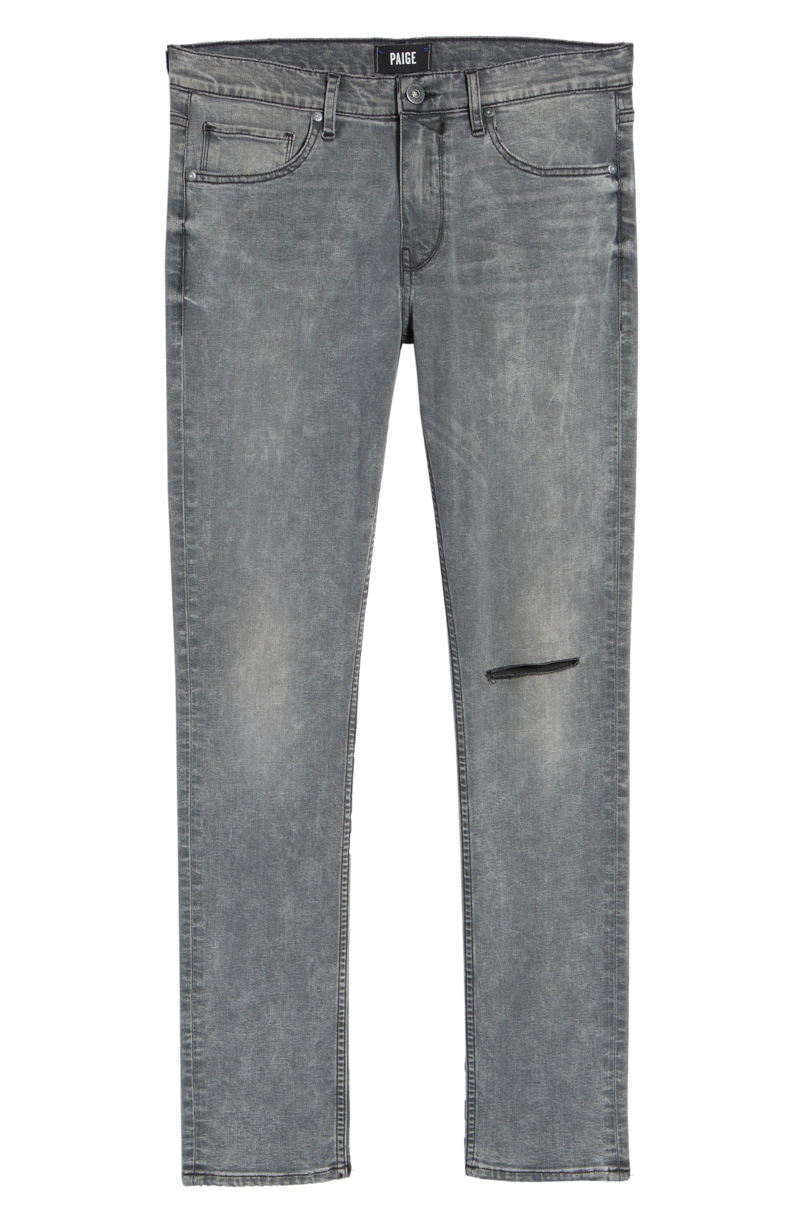 Lennox Slim Fit Jeans,                             Alternate thumbnail 6, color,                             020