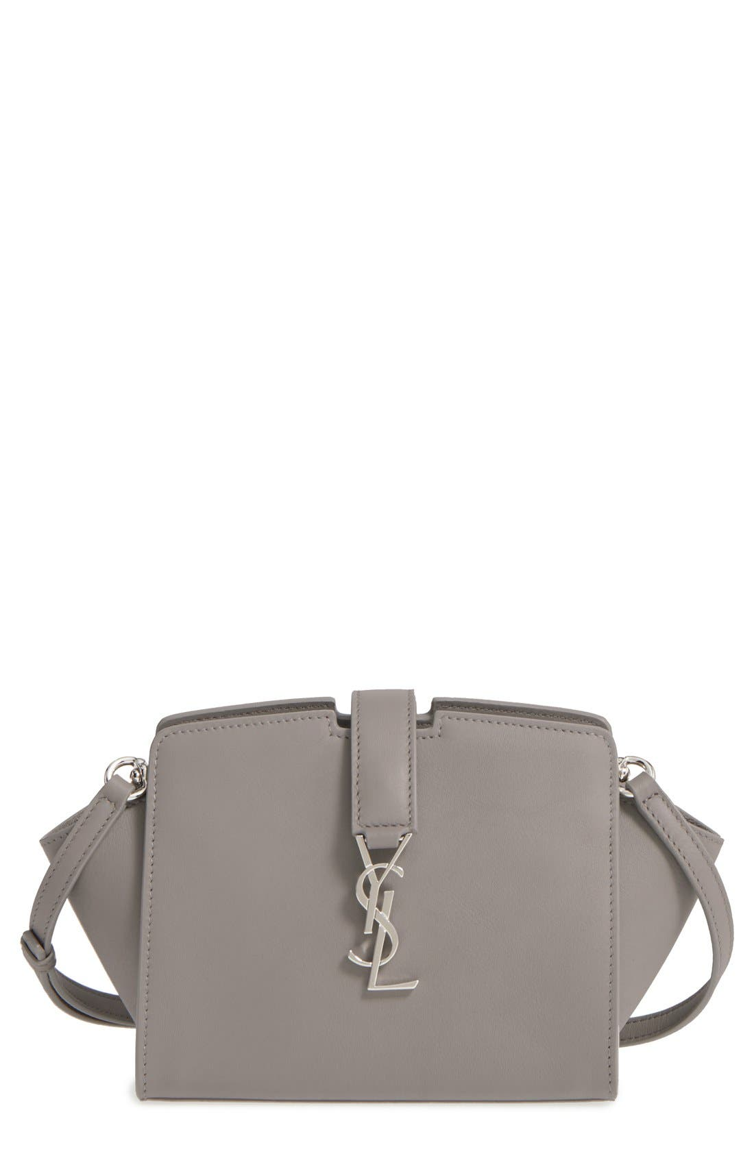 Toy Cabas Leather Crossbody Bag,                         Main,                         color, 020