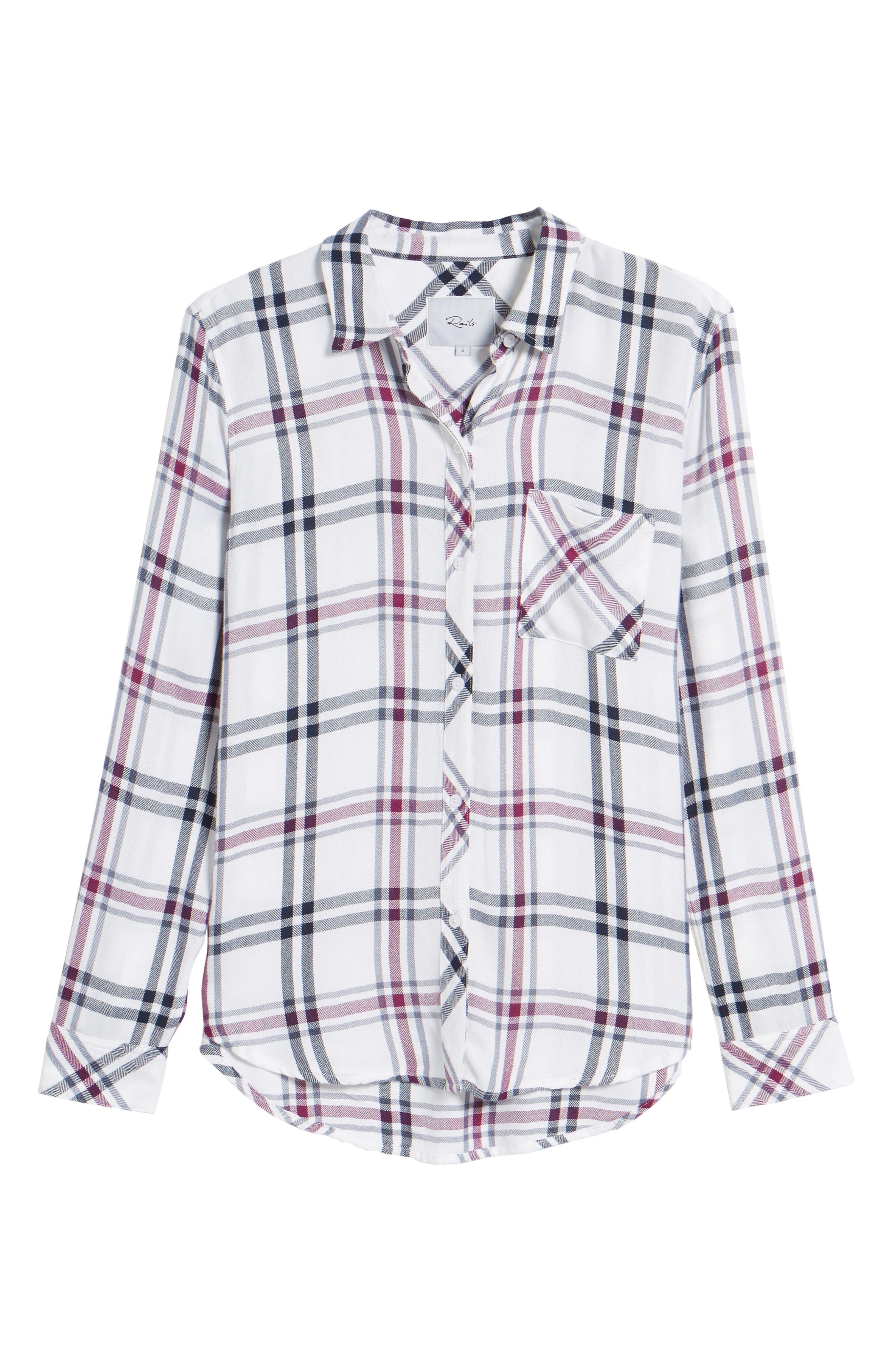 Hunter Plaid Shirt,                             Alternate thumbnail 711, color,