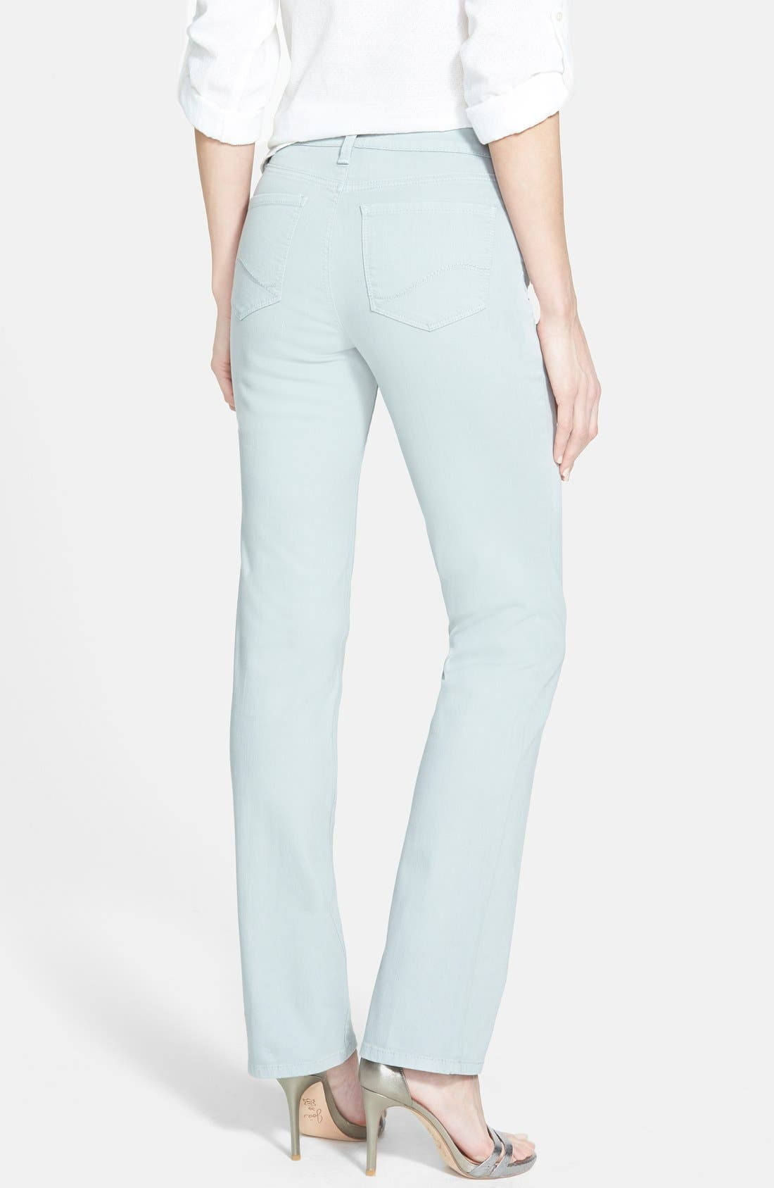 'Marilyn' Stretch Straight Leg Jeans,                             Alternate thumbnail 3, color,                             020