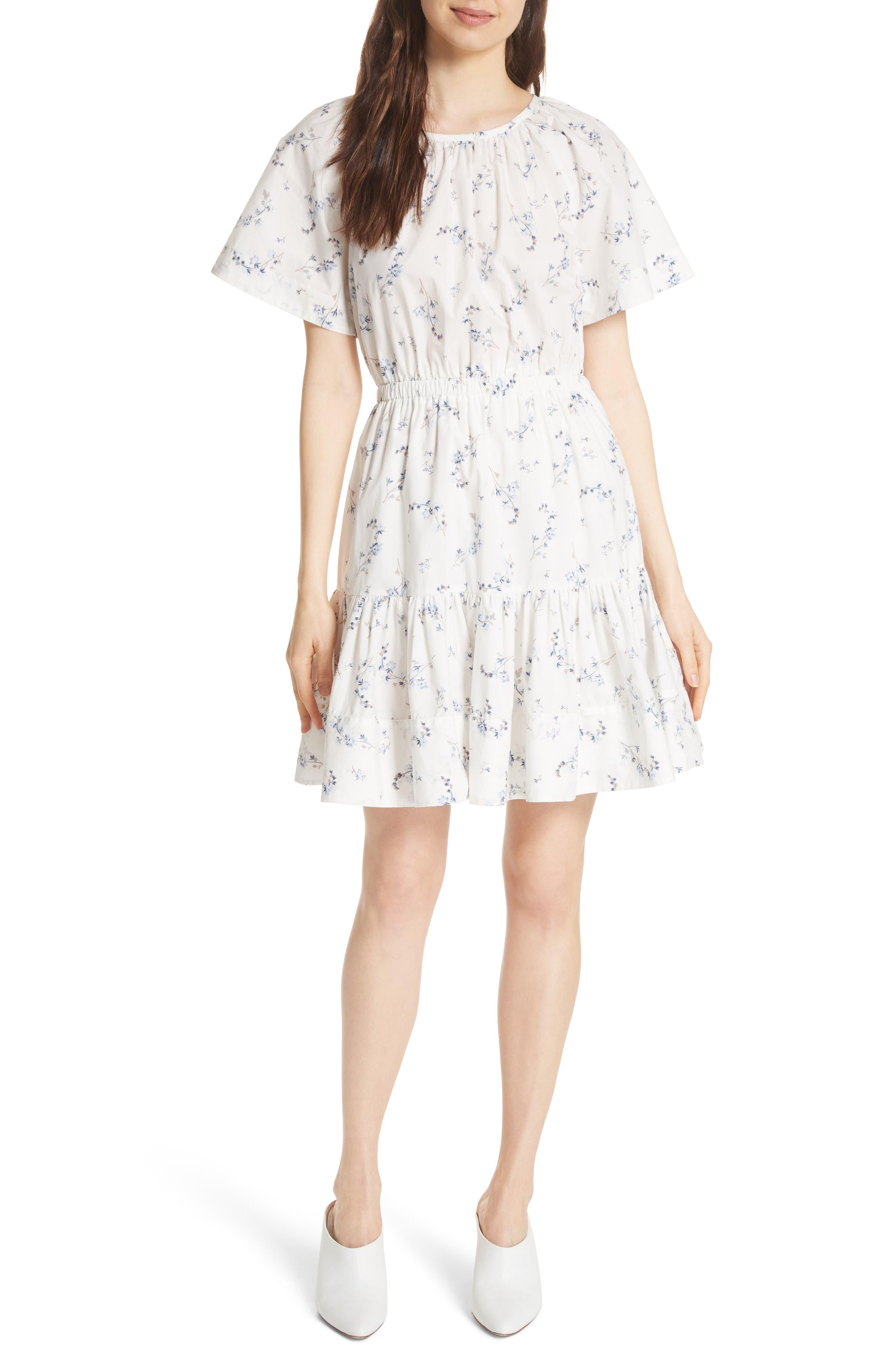 Francine Back Cutout Mini Dress,                             Main thumbnail 1, color,                             103