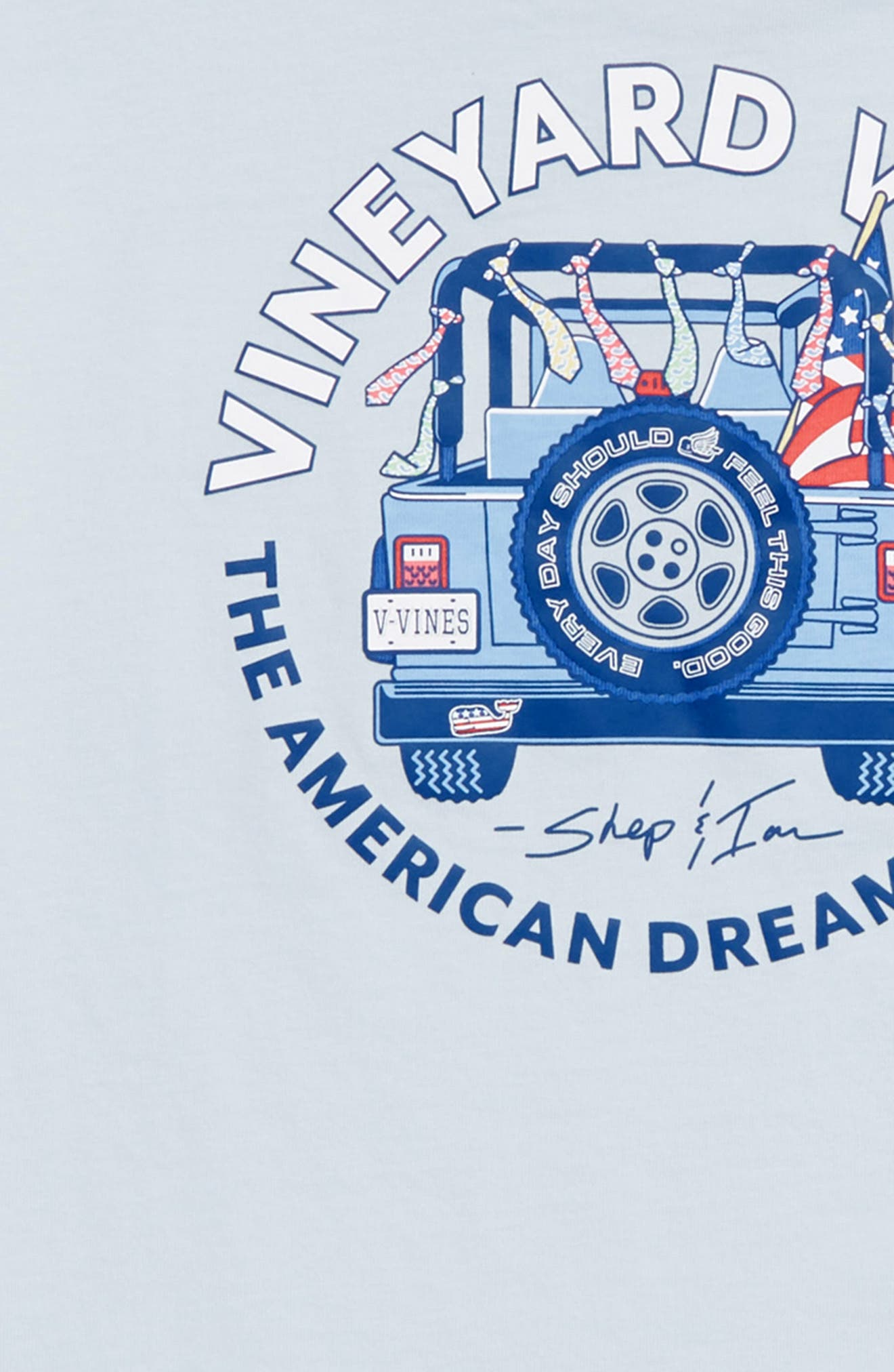 American Dream Pocket T-Shirt,                             Alternate thumbnail 3, color,