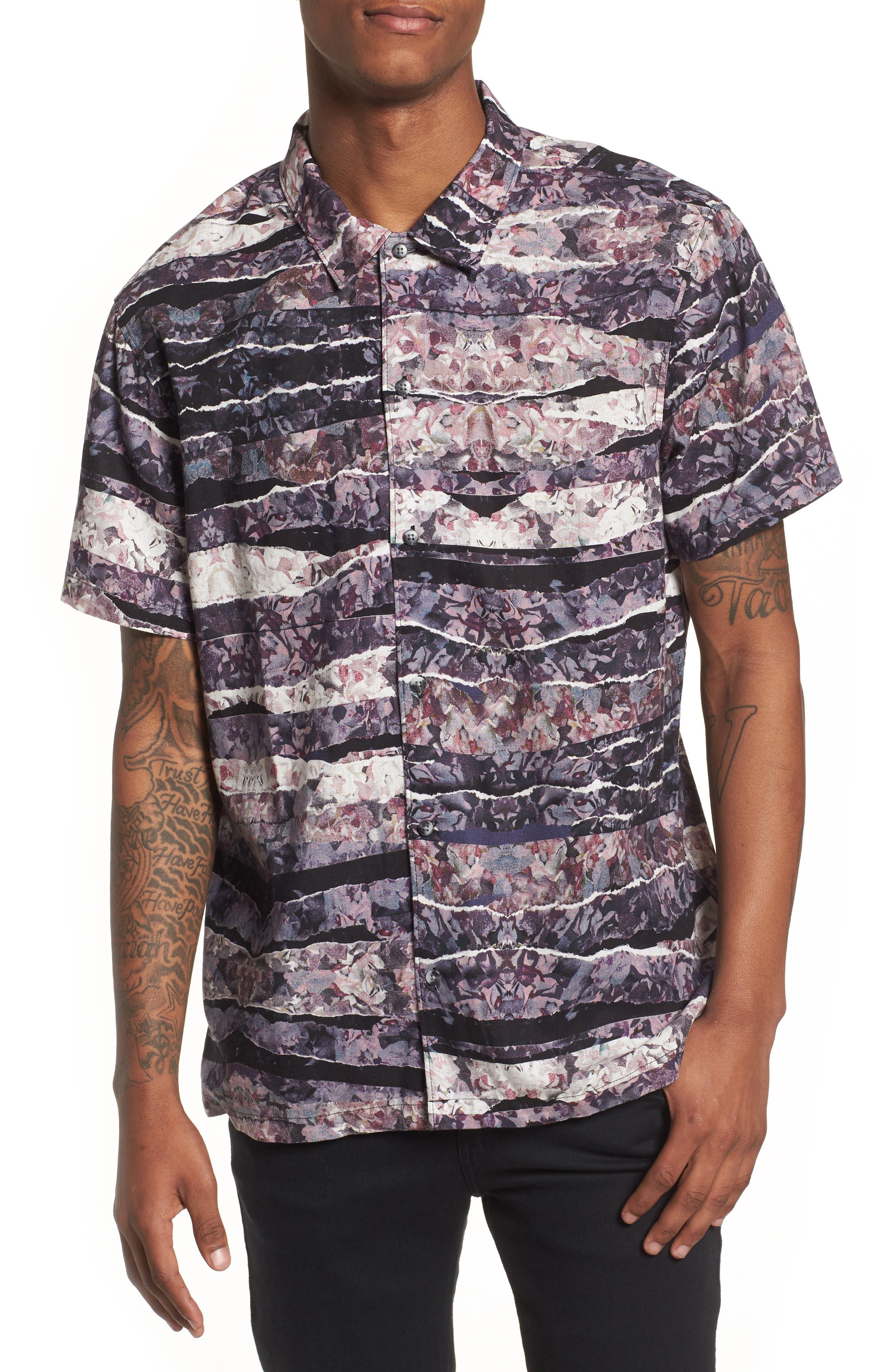 Shoto Short Sleeve Shirt,                             Main thumbnail 3, color,