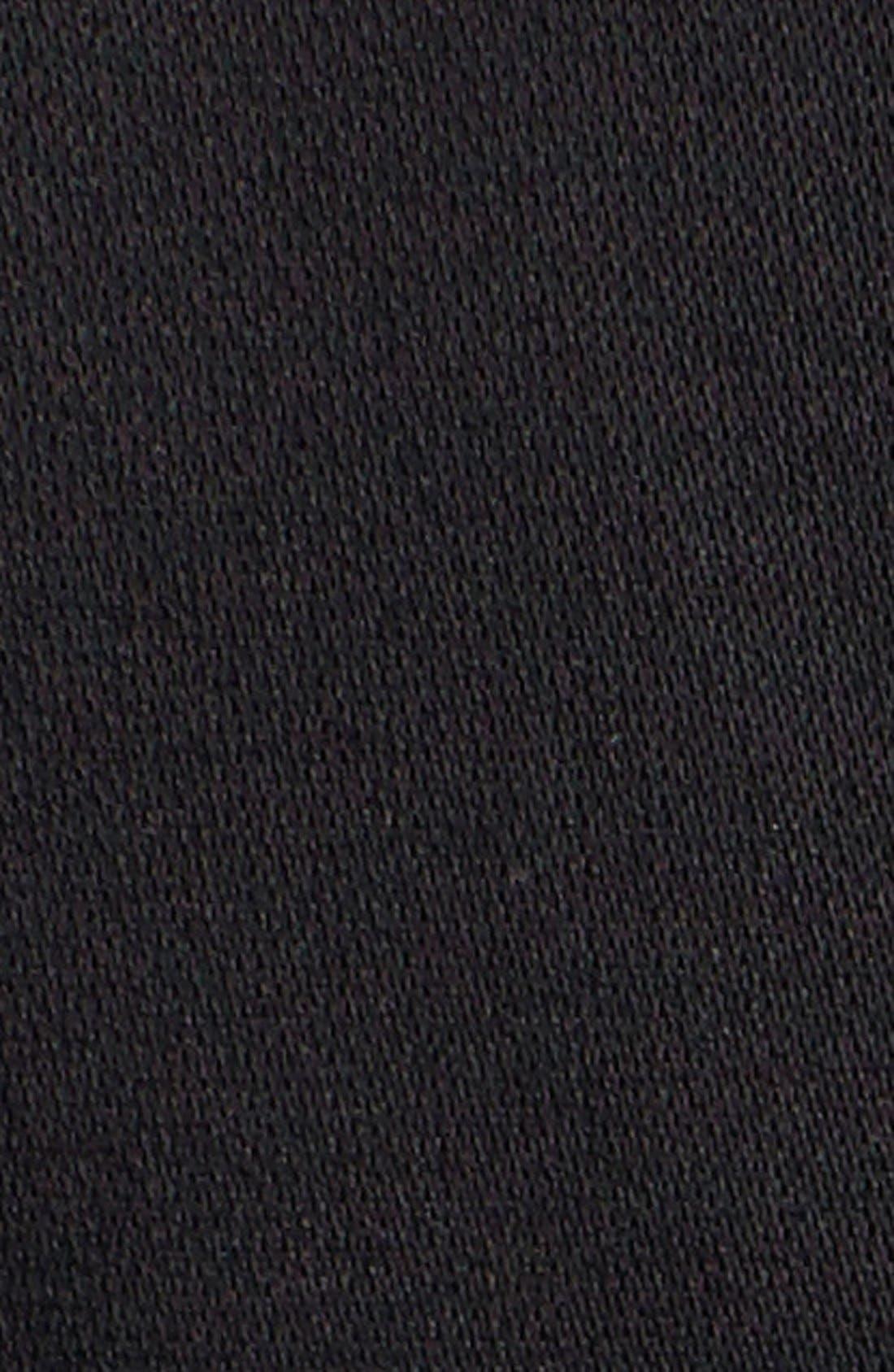 MICHAEL MICHAEL KORS,                             Asymmetrical Zip Sateen Trench Coat,                             Alternate thumbnail 2, color,                             001