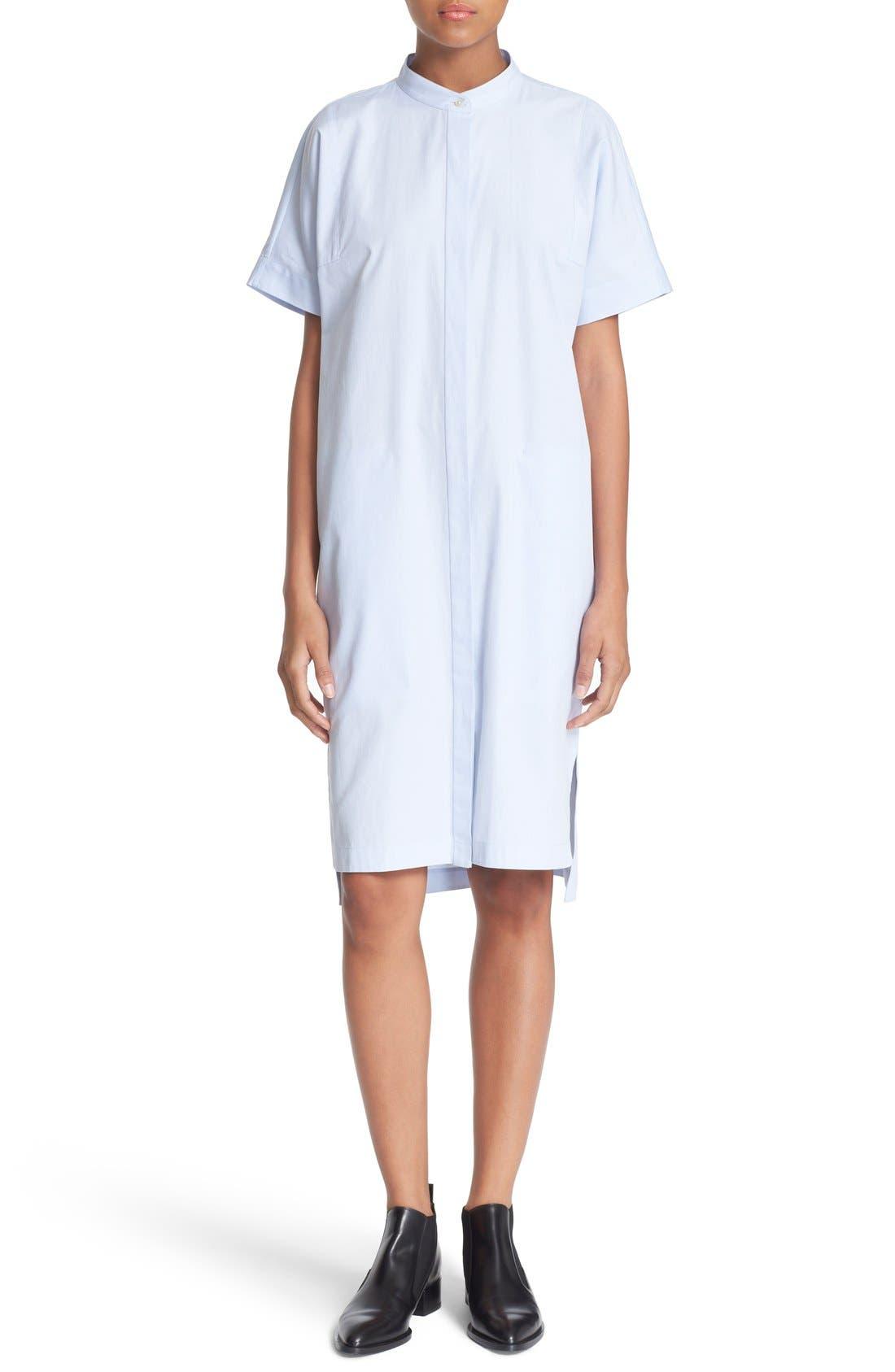 Cotton Shirtdress,                             Main thumbnail 1, color,                             456
