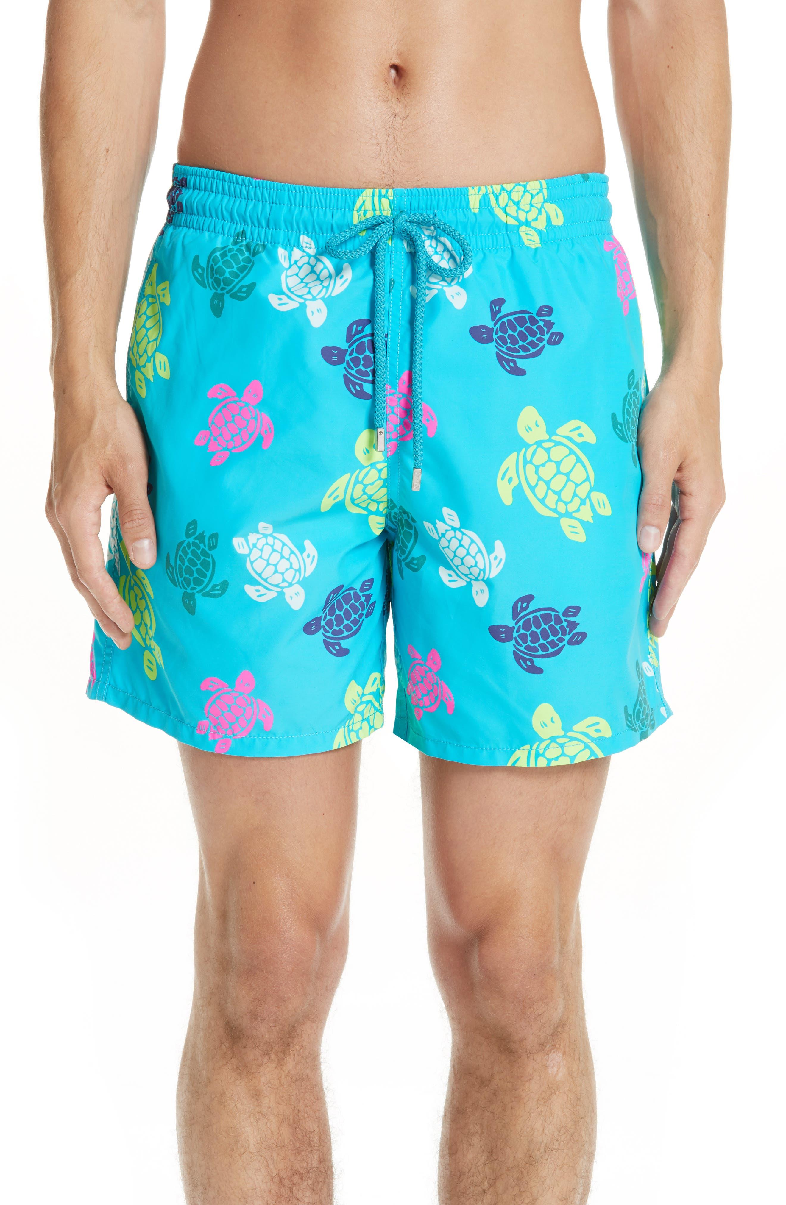 Vilebrequin Turtle Print Swim Trunks