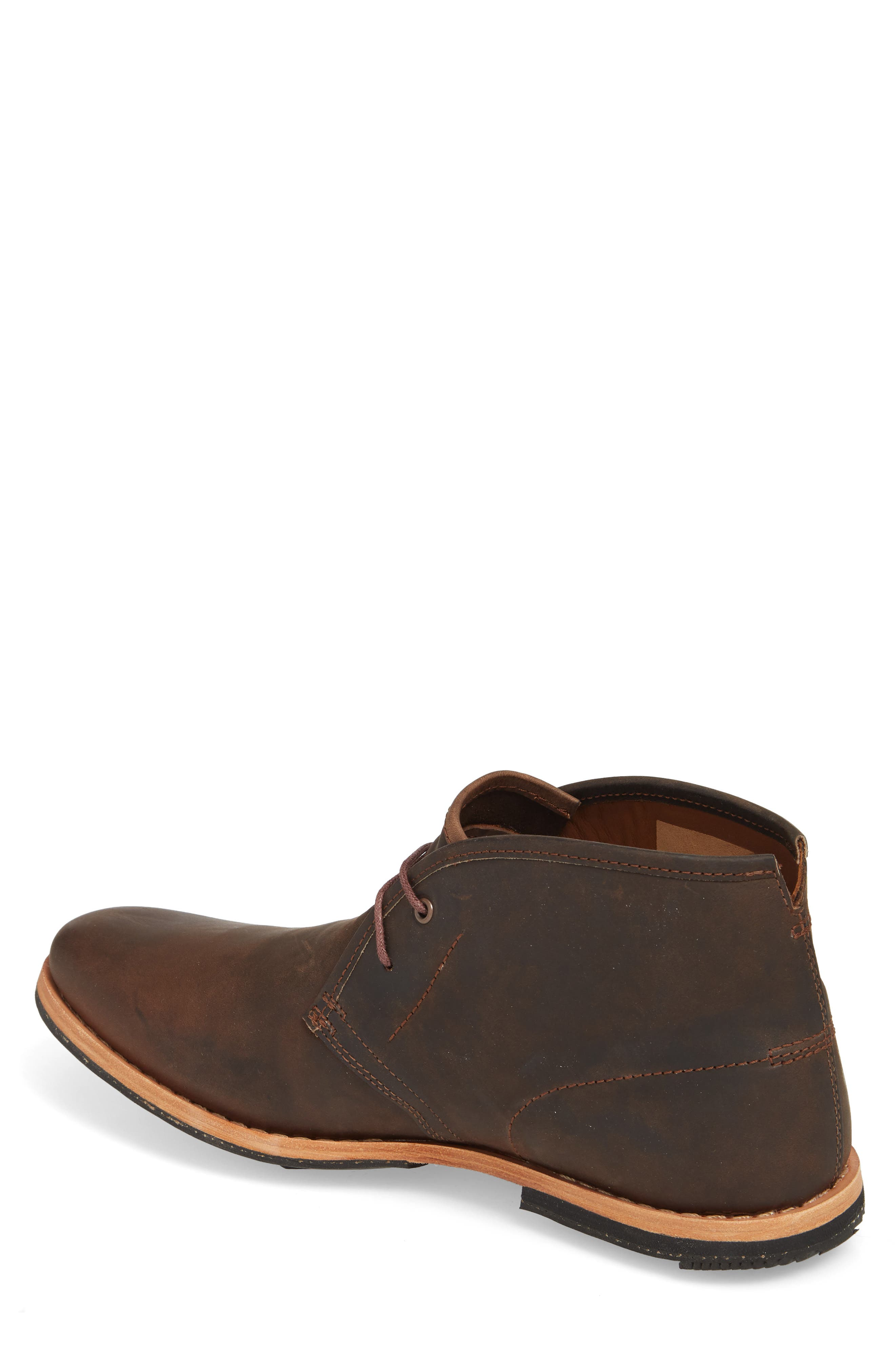 Wodehouse Lost History Chukka Boot,                             Alternate thumbnail 2, color,                             BROWN LEATHER