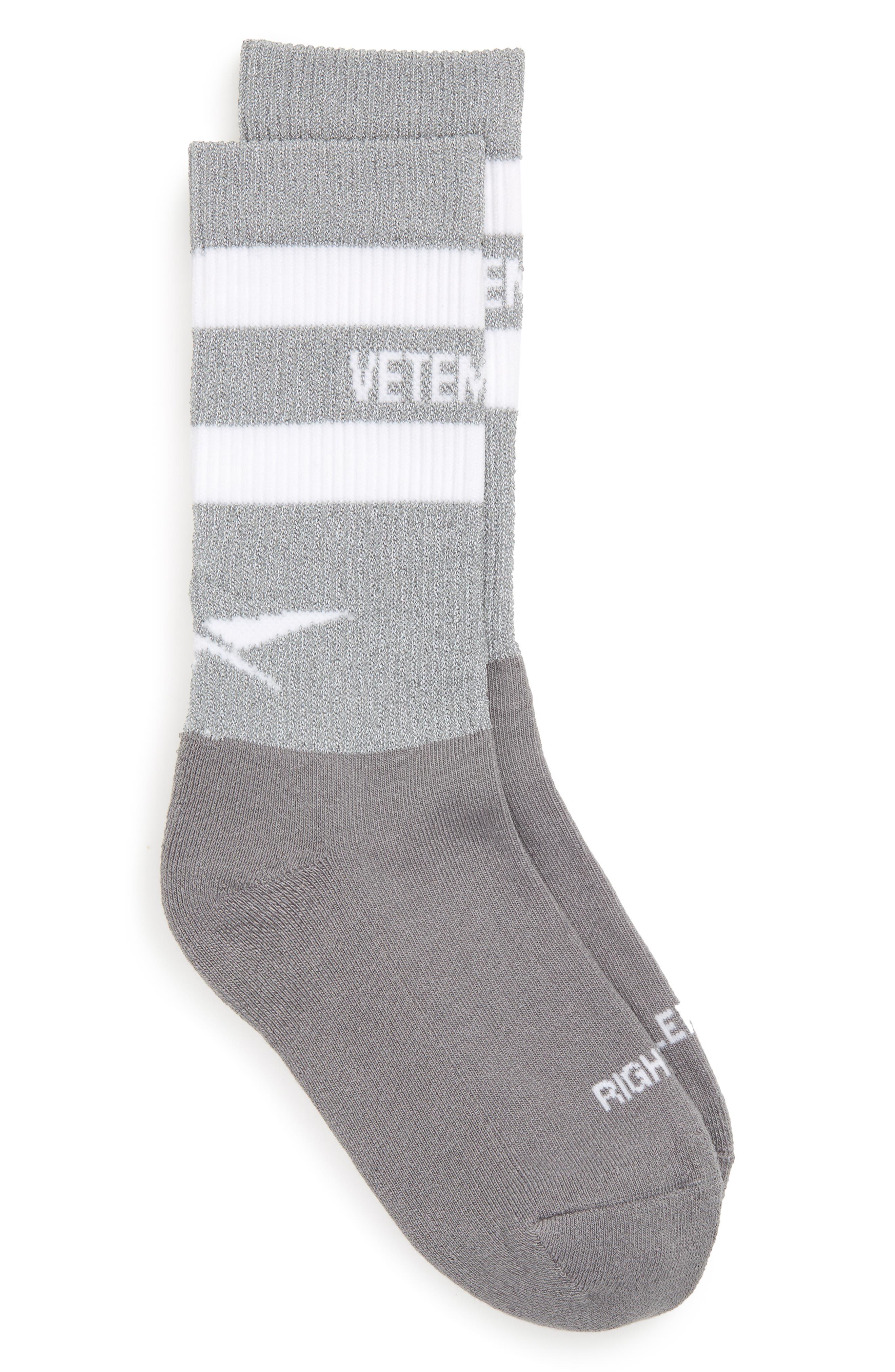 Reflective Socks,                             Main thumbnail 1, color,                             020