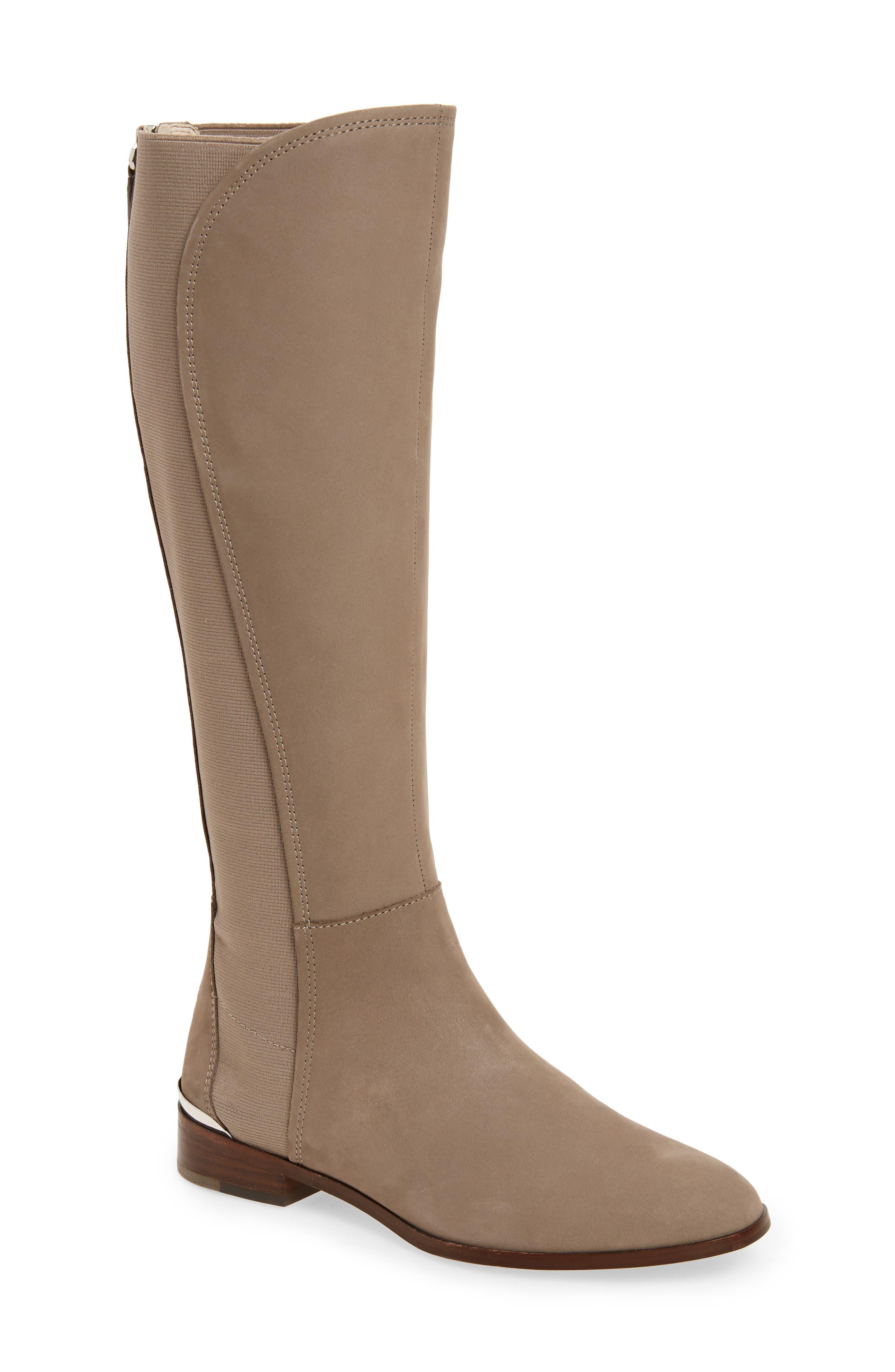 Vallery Elastic Back Knee High Boot,                             Main thumbnail 2, color,