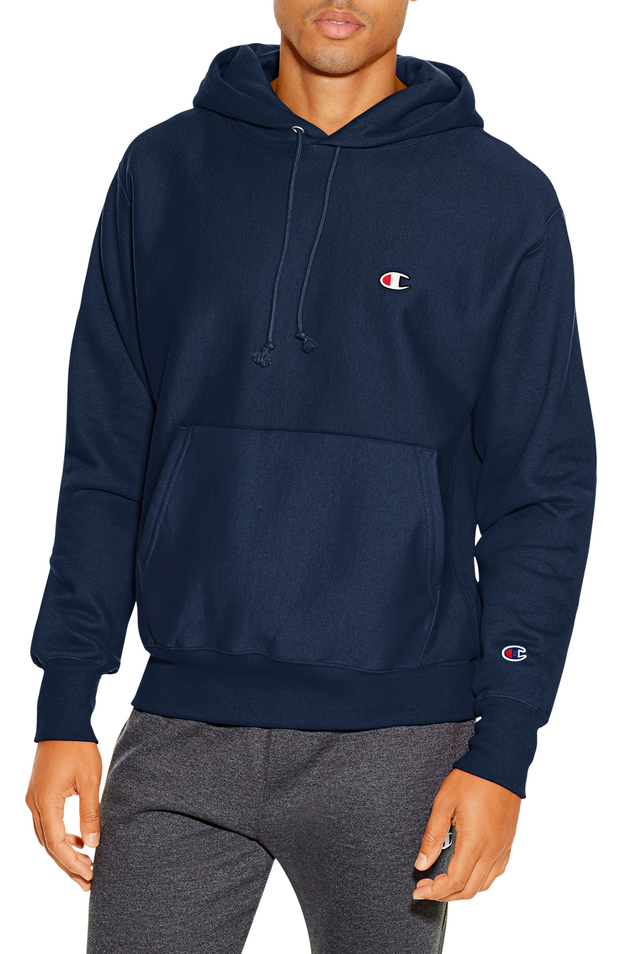 Reverse Weave<sup>®</sup> Pullover Hoodie,                             Main thumbnail 6, color,