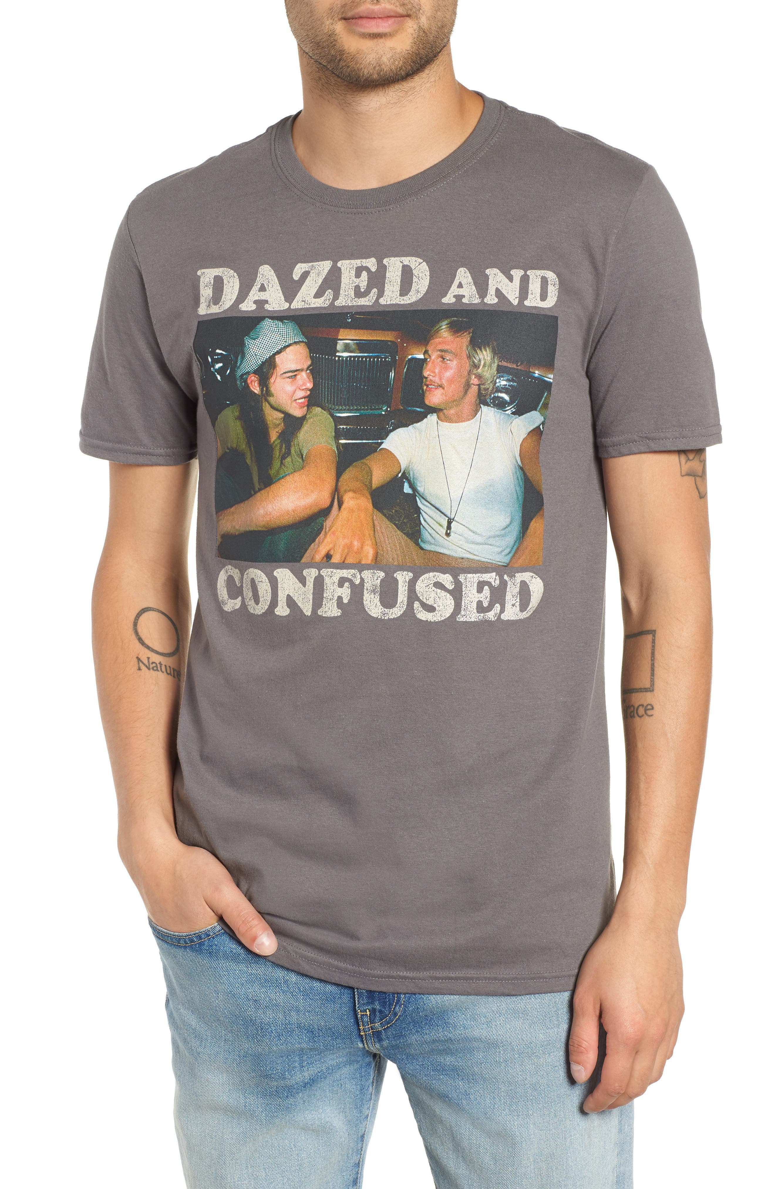 Dazed & Confused Graphic T-Shirt,                             Main thumbnail 1, color,                             030