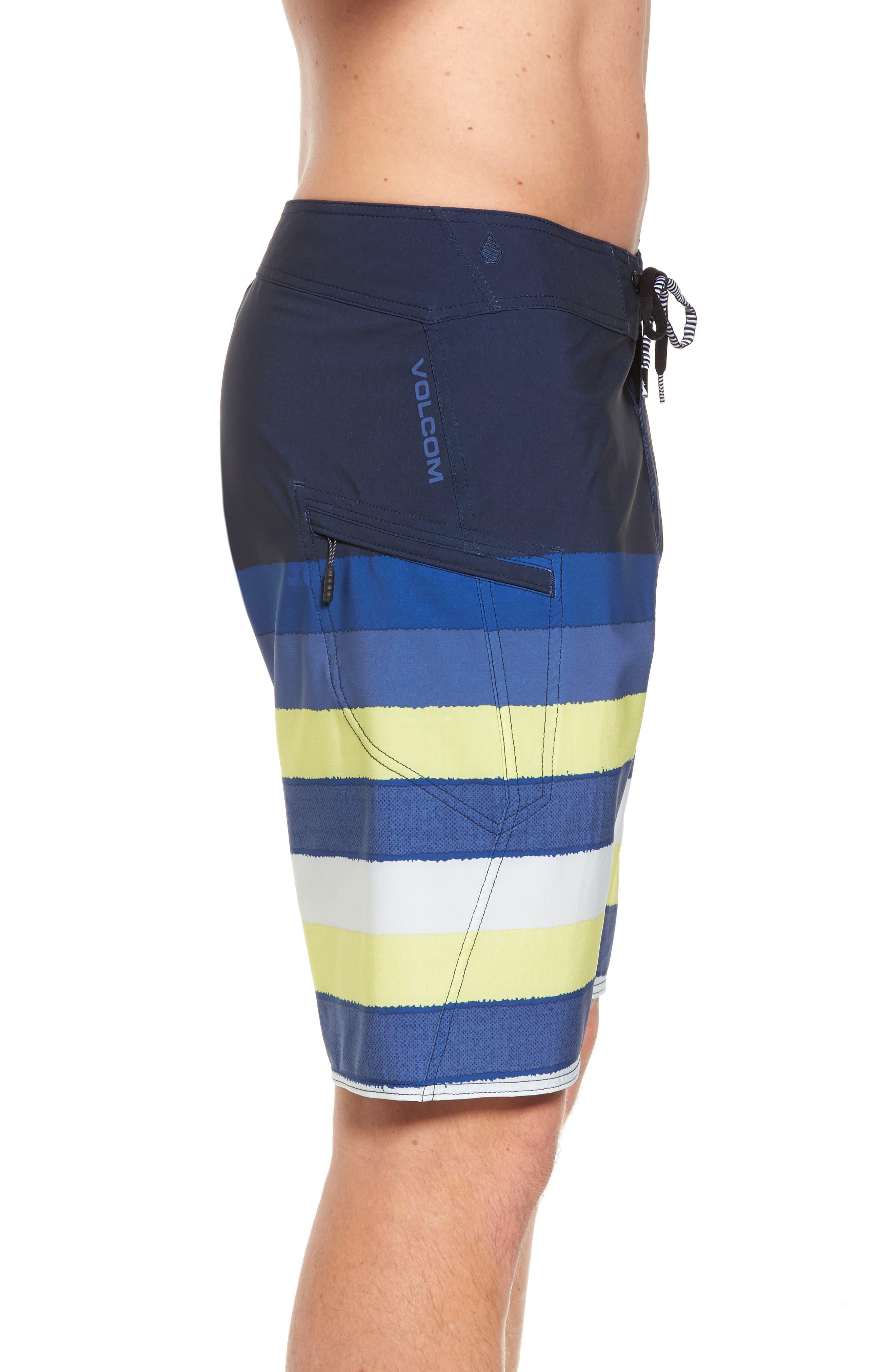 Lido Liney Mod Board Shorts,                             Alternate thumbnail 5, color,