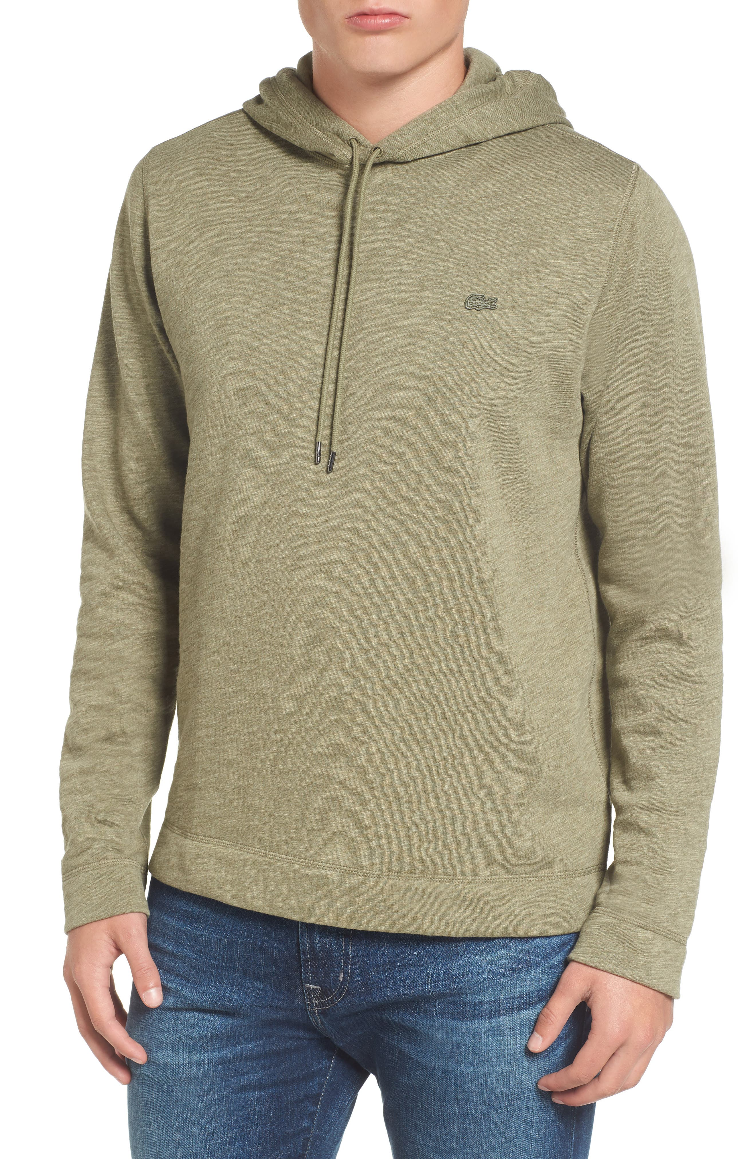 Brushed Fleece Hoodie,                             Main thumbnail 1, color,                             028