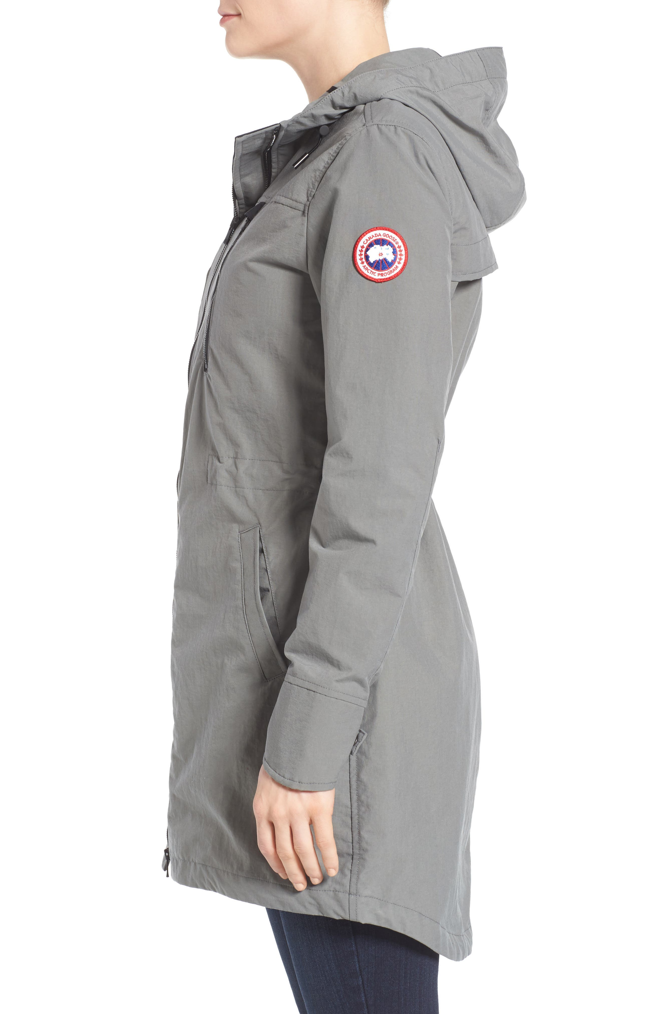 Brossard Hooded Drop Tail Jacket,                             Alternate thumbnail 10, color,
