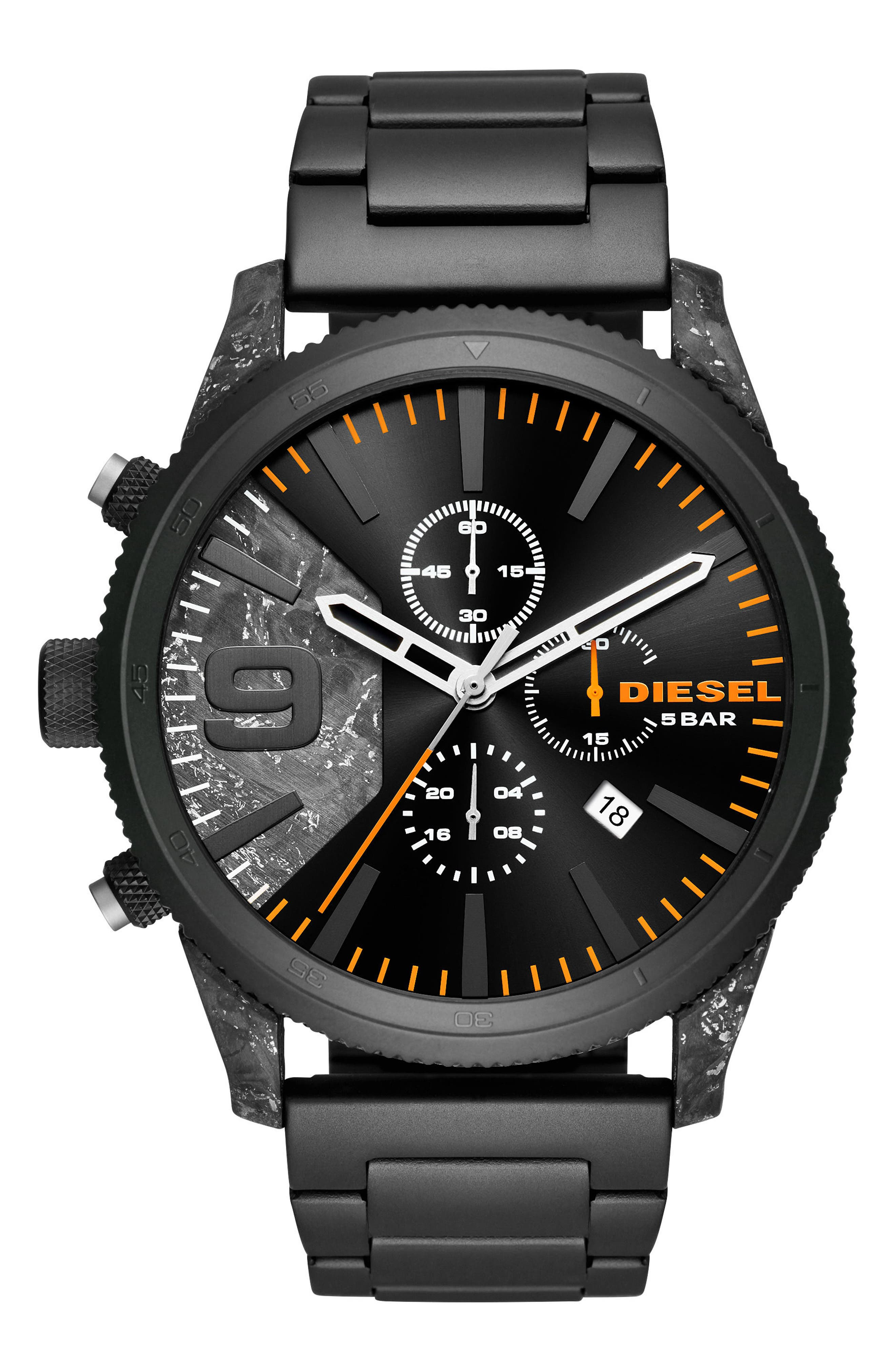 Rasp Chronograph Bracelet Watch, 50mm x 59mm,                             Main thumbnail 1, color,                             020