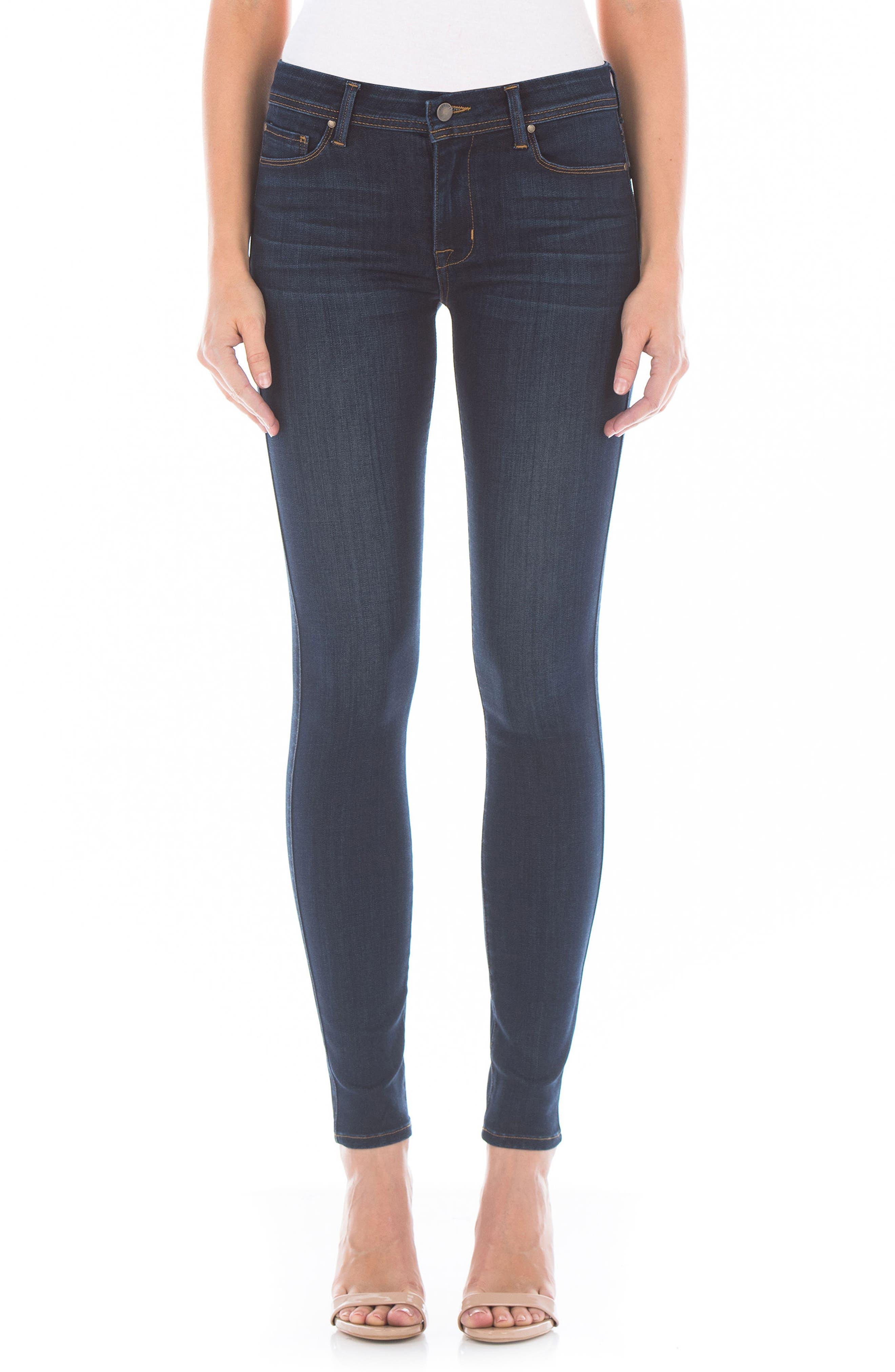 Belvedere Skinny Jeans,                         Main,                         color, 400