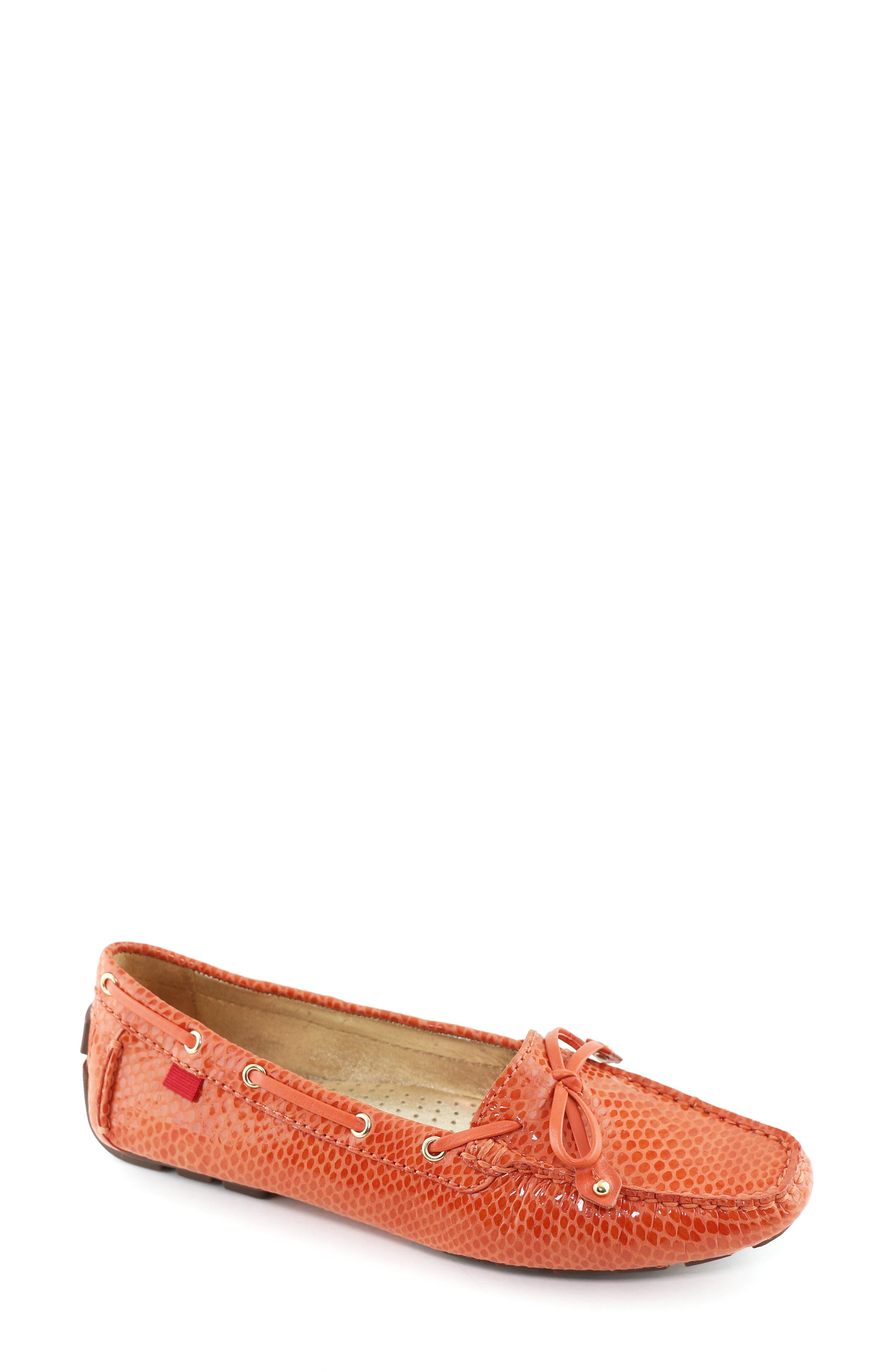 MARC JOSEPH NEW YORK,                             'Cypress Hill' Loafer,                             Main thumbnail 1, color,                             CORAL SNAKE PRINT LEATHER