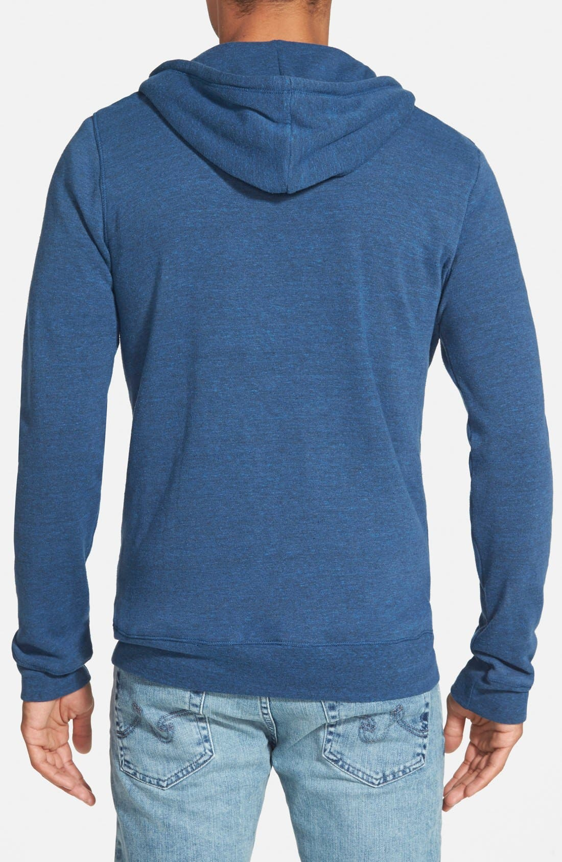 Threads for Thought Trim Fit Heathered Hoodie,                             Alternate thumbnail 31, color,