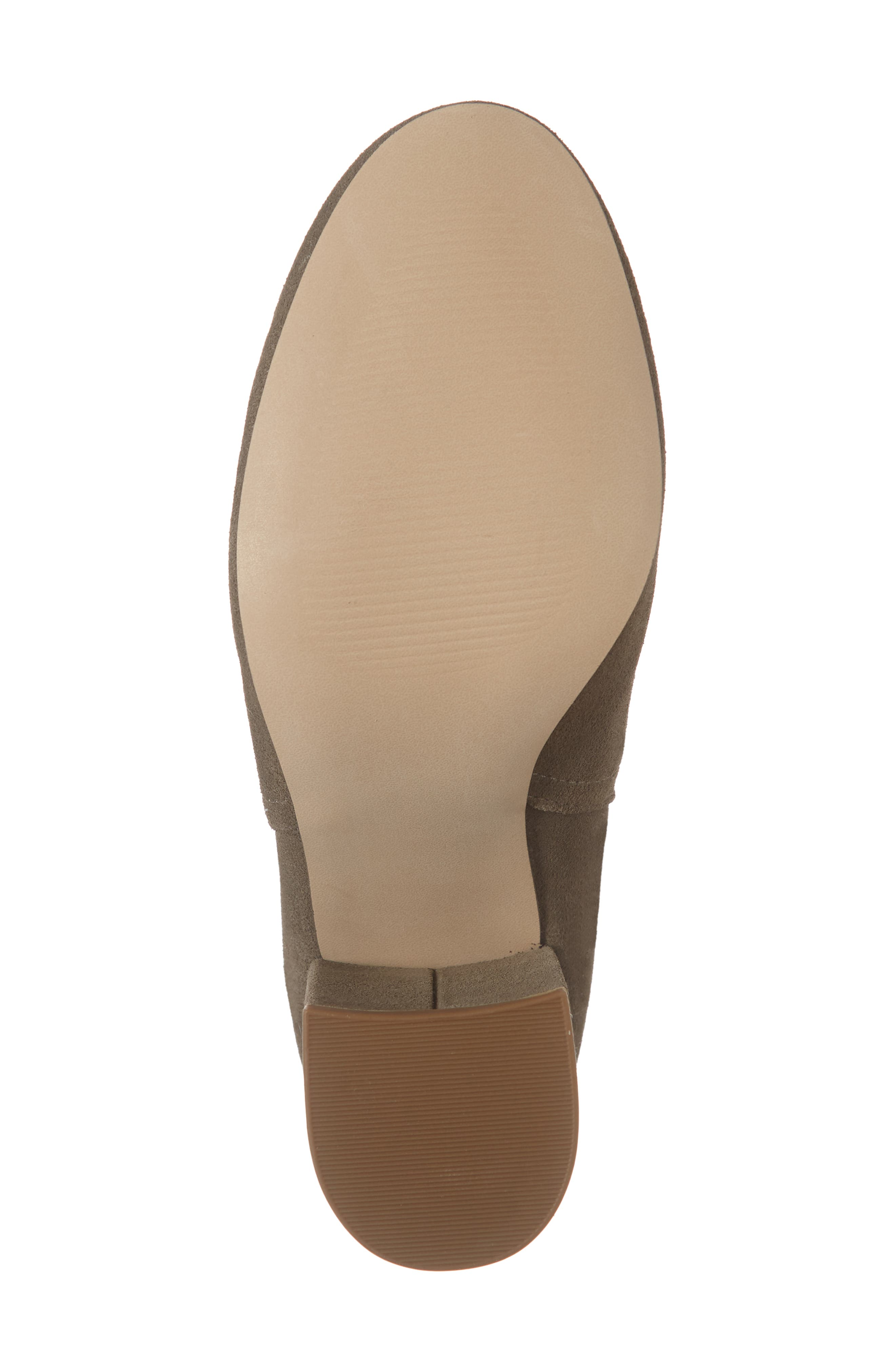Nayna Bootie,                             Alternate thumbnail 6, color,                             DARK TAUPE