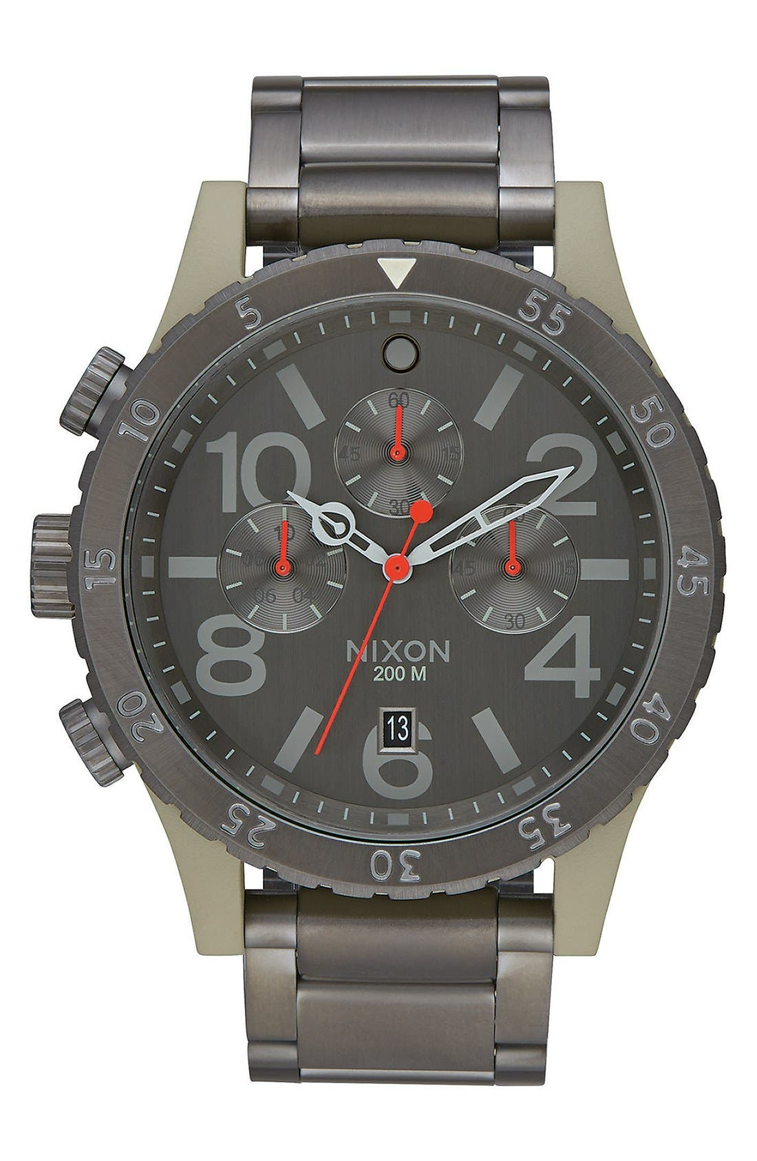 'The 48-20' Chronograph Watch, 48mm,                             Main thumbnail 3, color,