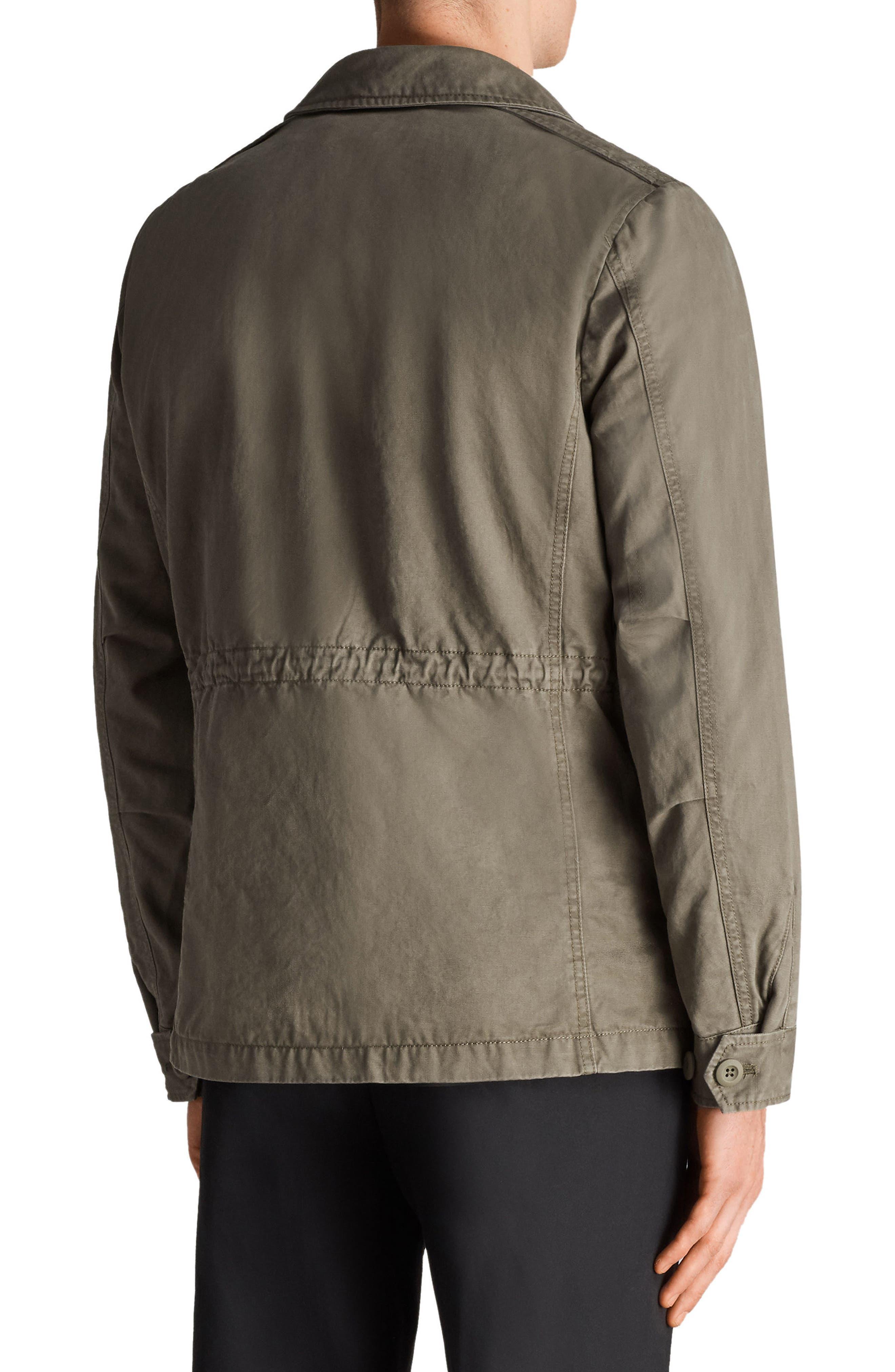 Cote Regular Fit Cotton Jacket,                             Alternate thumbnail 2, color,                             342