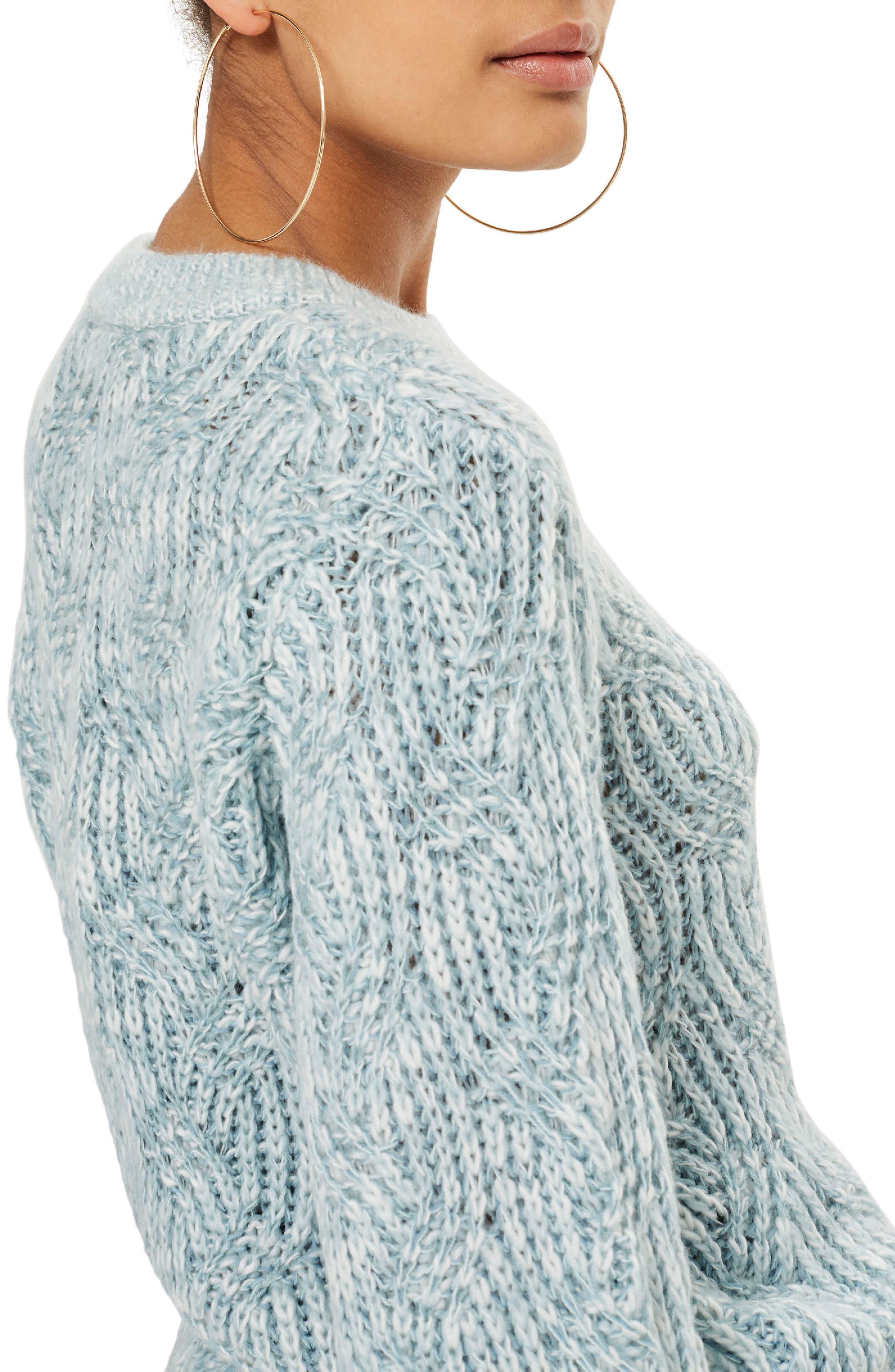 Swirl Tuck Sweater,                             Alternate thumbnail 2, color,                             450