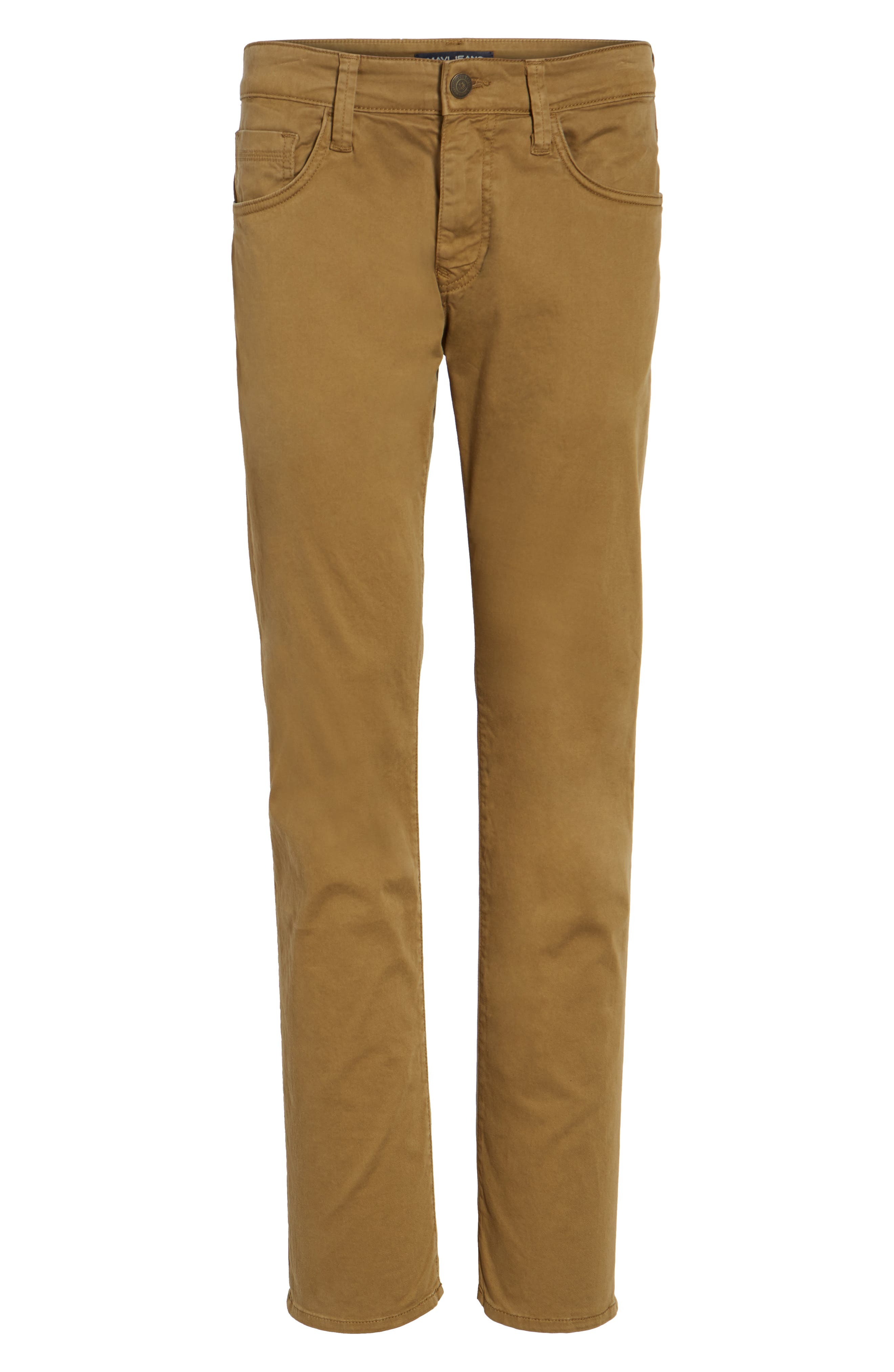 Zach Straight Leg Twill Pants,                             Alternate thumbnail 6, color,                             200