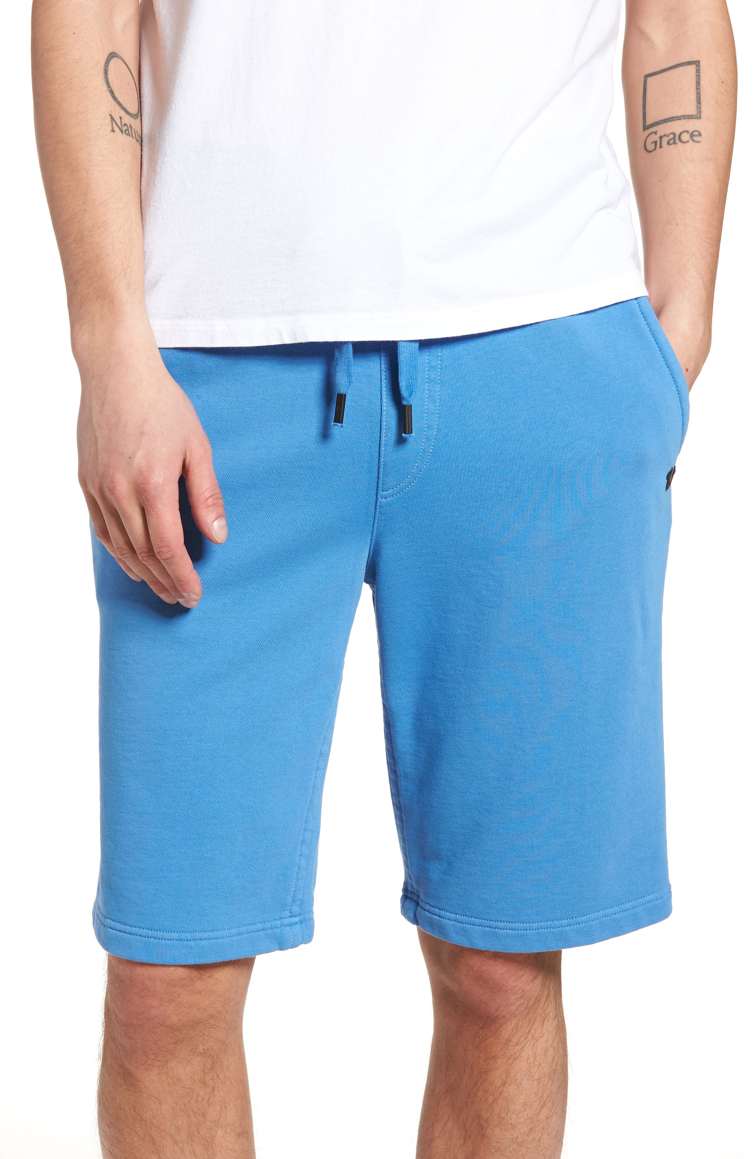 Core Shorts,                             Main thumbnail 1, color,                             DIGITAL BLUE