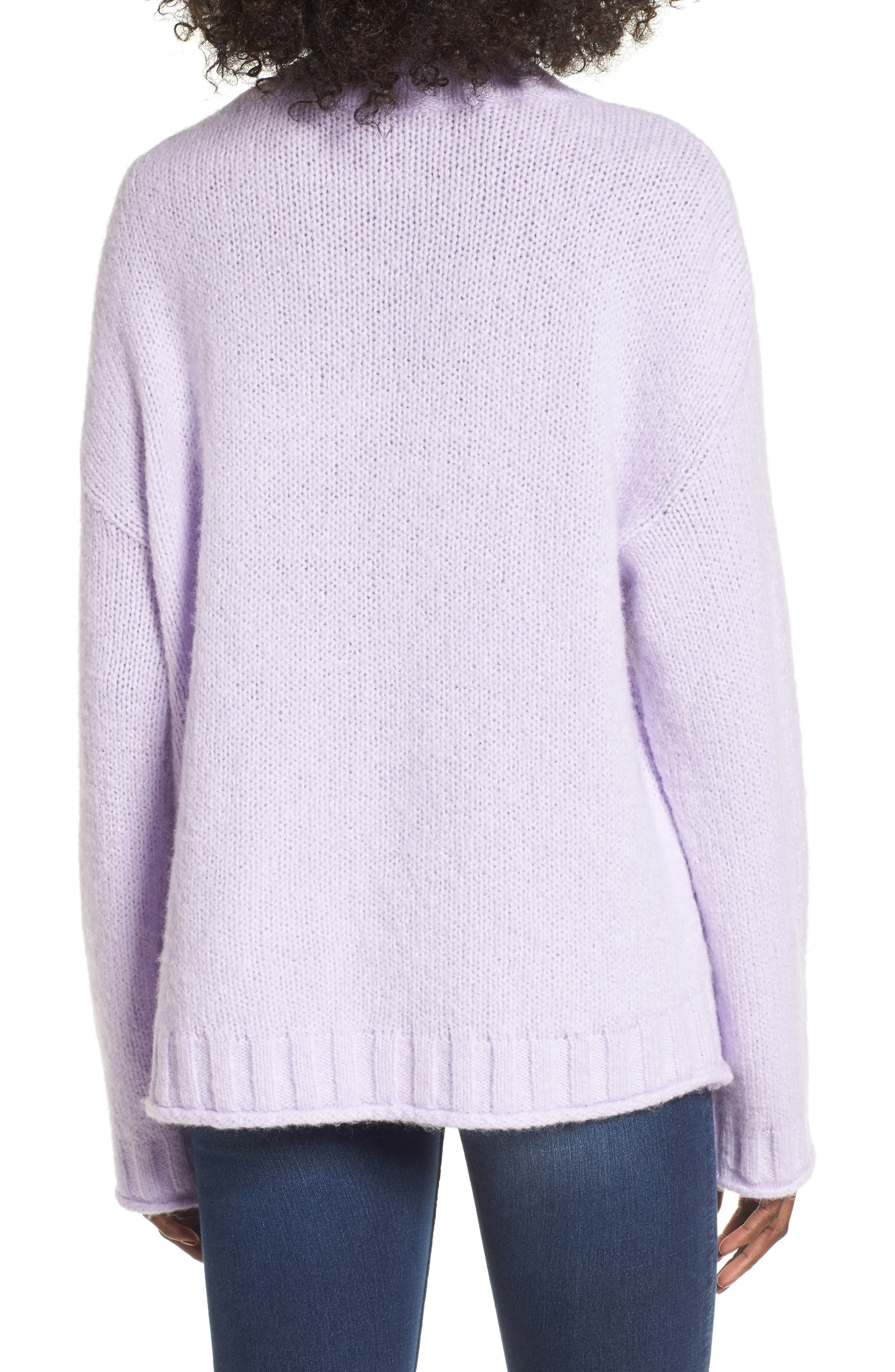 Cozy Mock Neck Sweater,                             Alternate thumbnail 9, color,