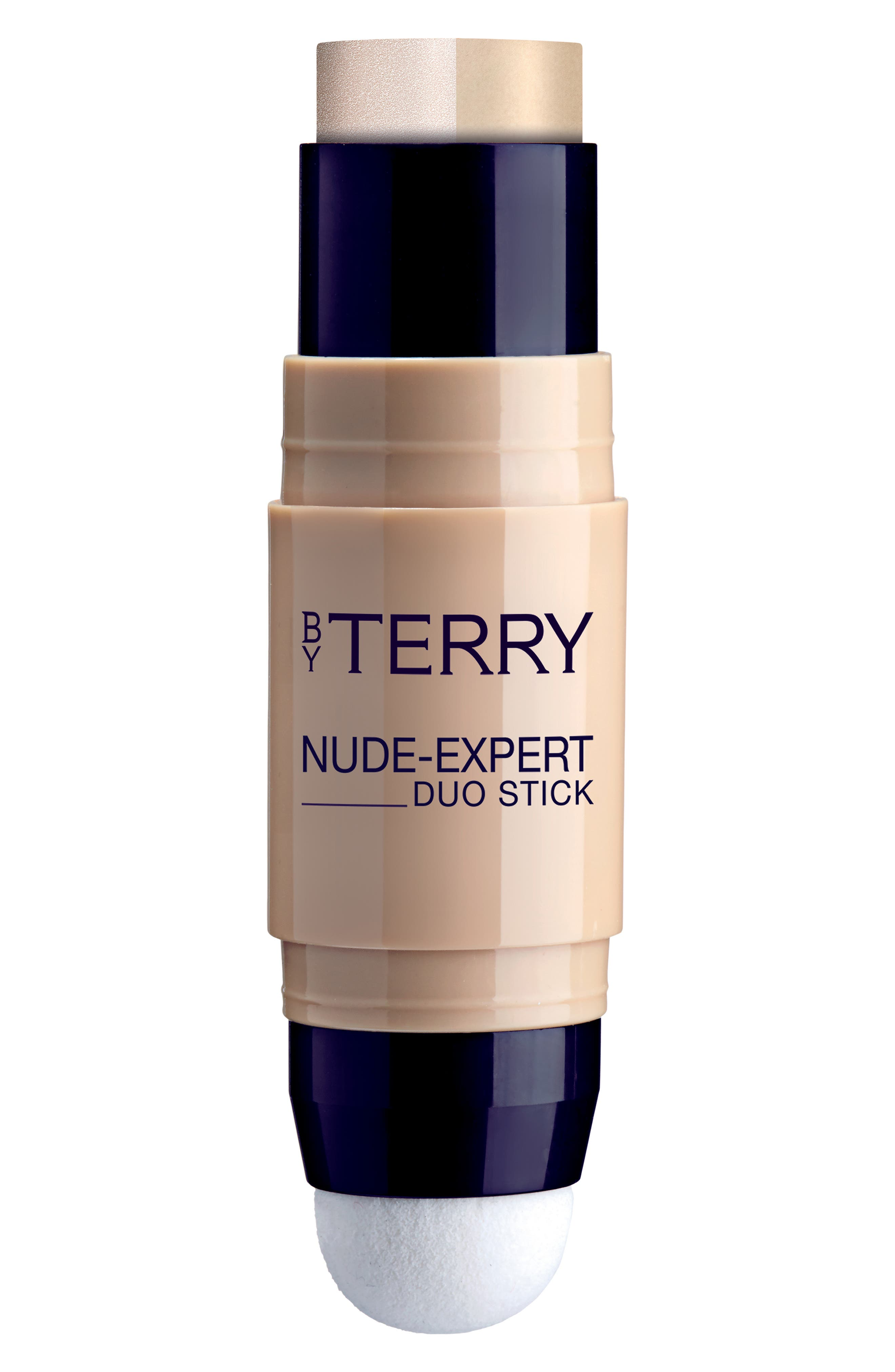 BY TERRY Nude-Expert Foundation & Highlighter Stick - 2- Neutral Beige