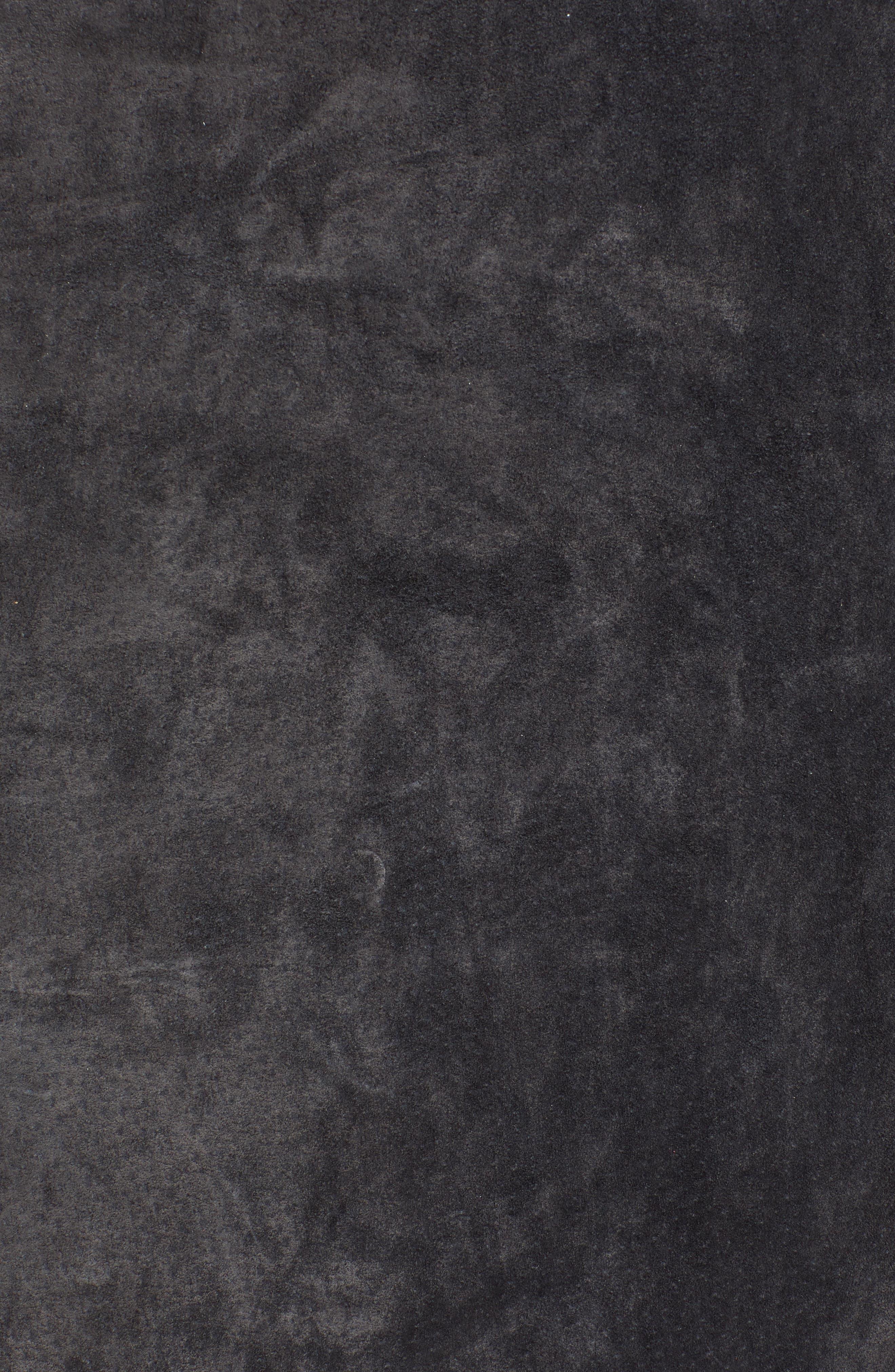 A-Line Suede Miniskirt,                             Alternate thumbnail 5, color,                             020