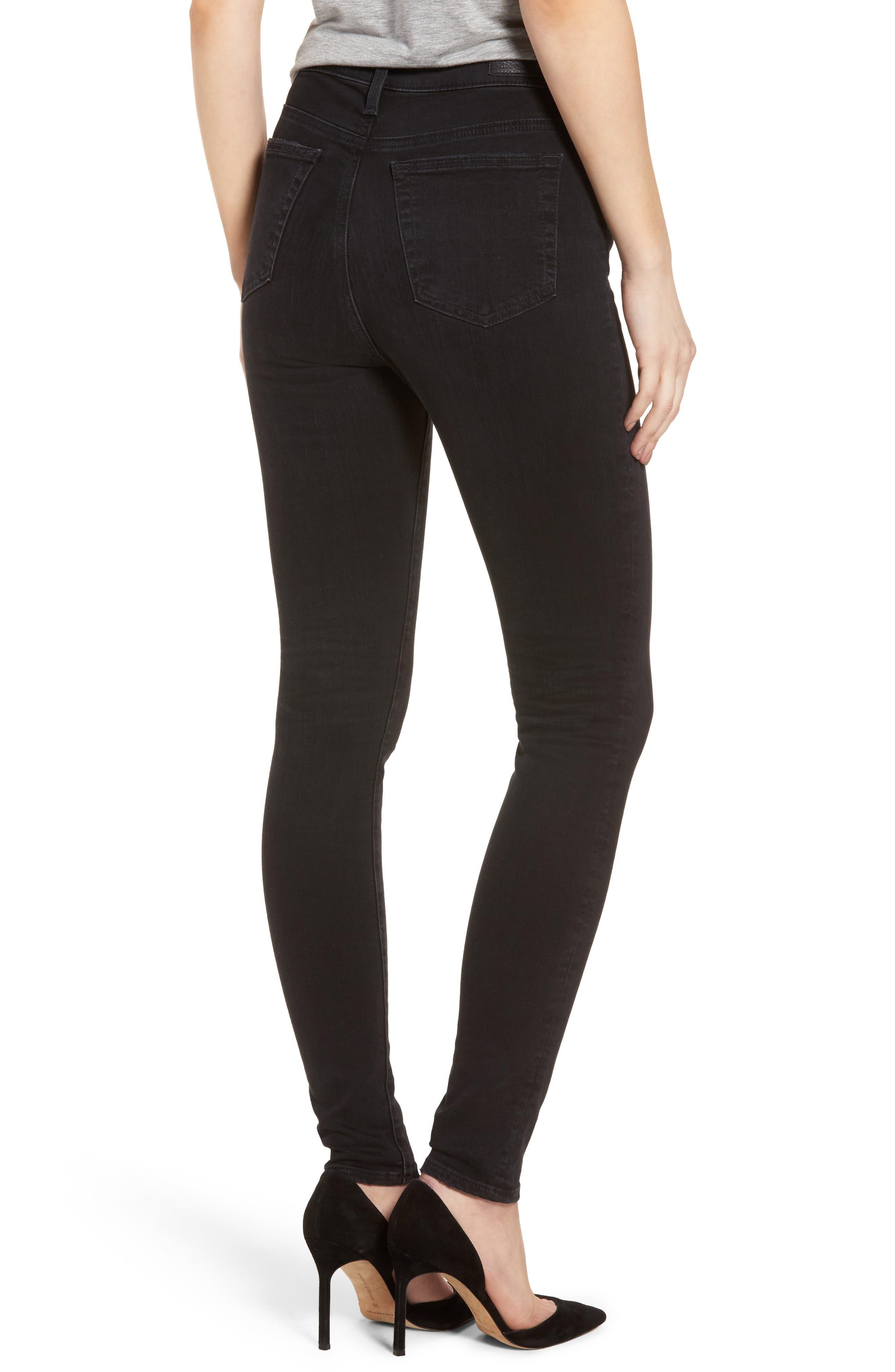 Mila High Rise Skinny Jeans,                             Alternate thumbnail 2, color,                             016