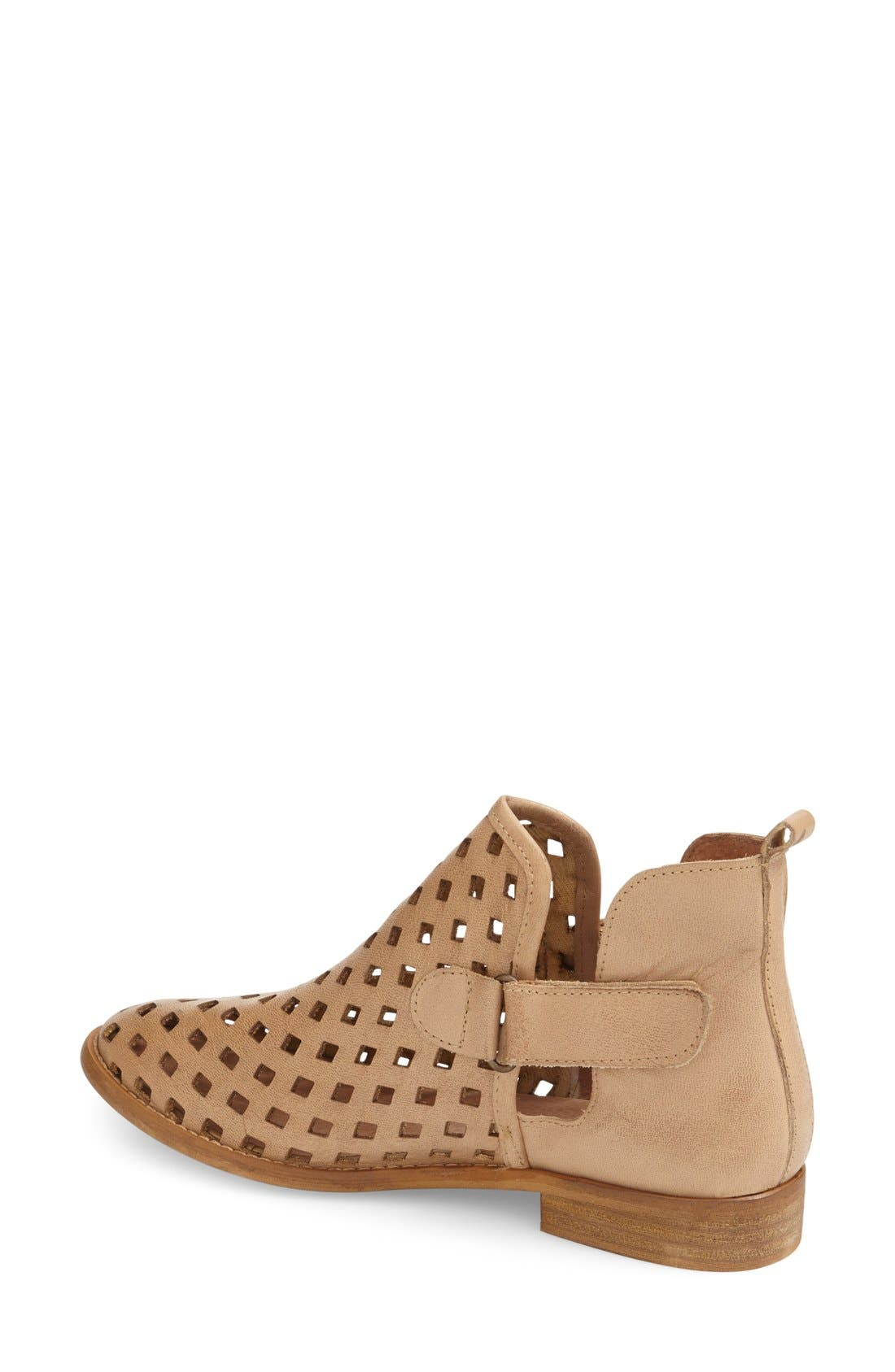 'Caila' Perforated Bootie,                             Alternate thumbnail 3, color,                             201