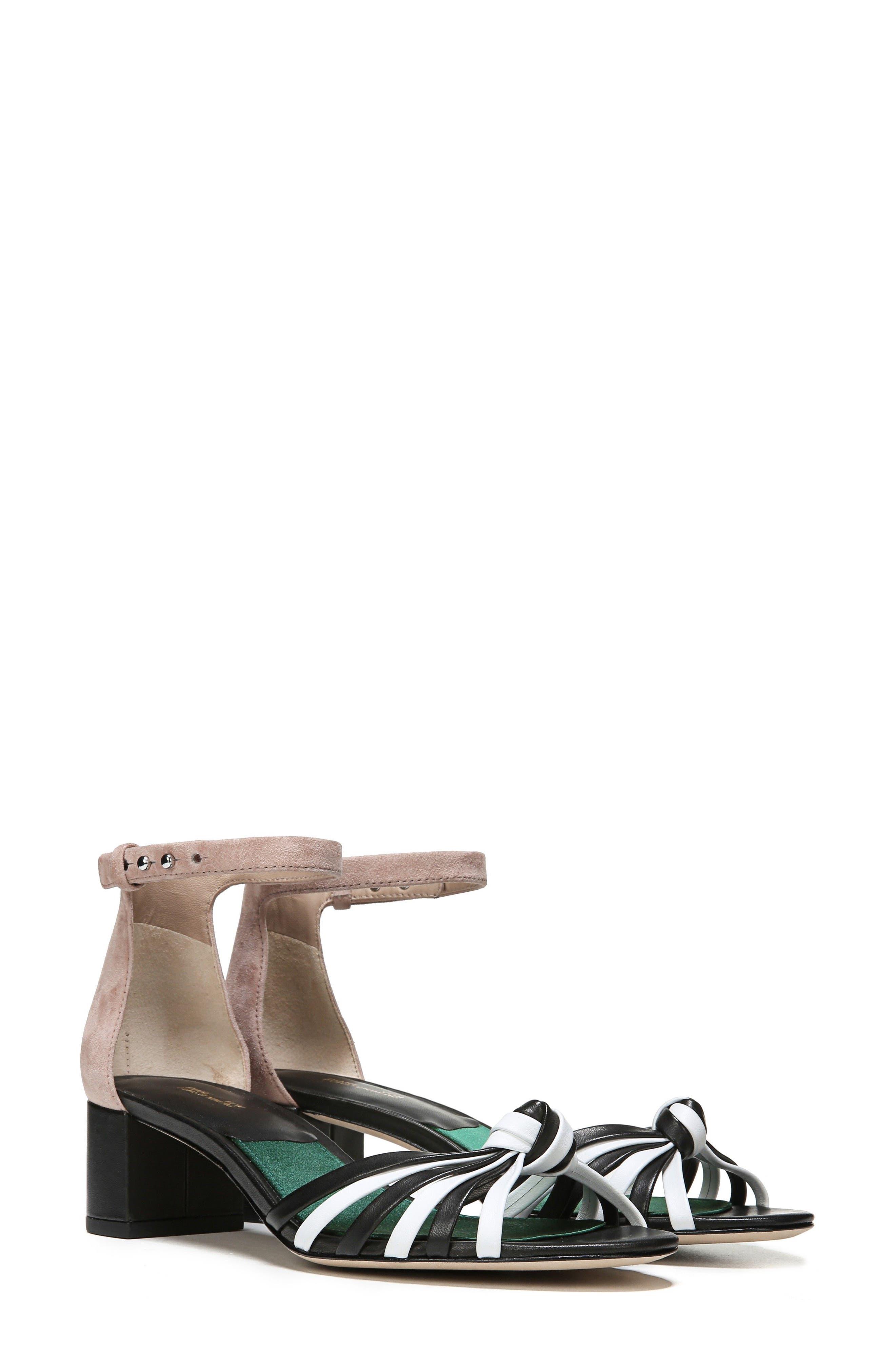 Fonseca Ankle Strap Sandal,                             Alternate thumbnail 7, color,                             001
