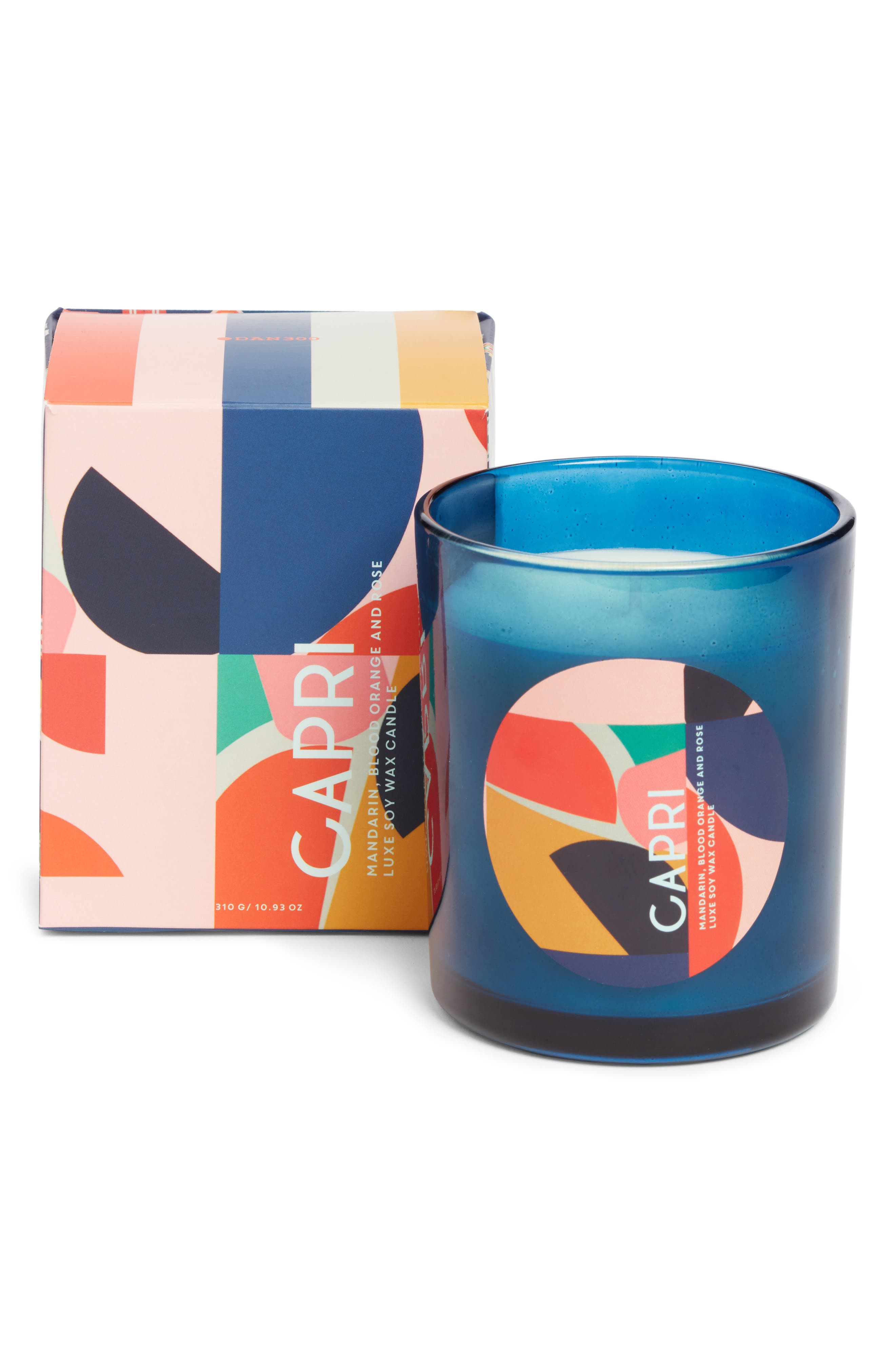 Resort Luxe Scented Soy Wax Candle,                             Alternate thumbnail 2, color,                             CAPRI