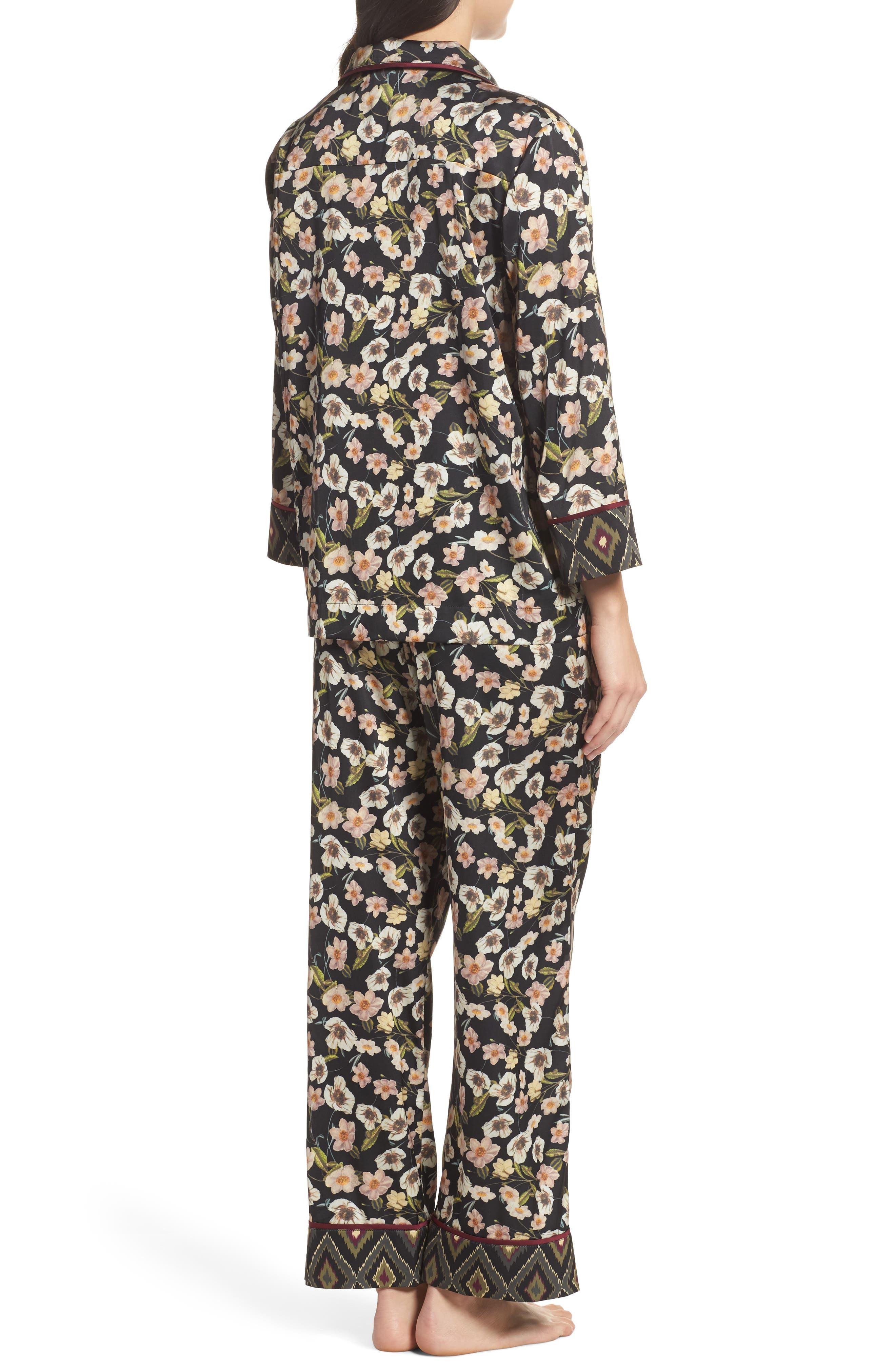 Print Pajamas,                             Alternate thumbnail 3, color,