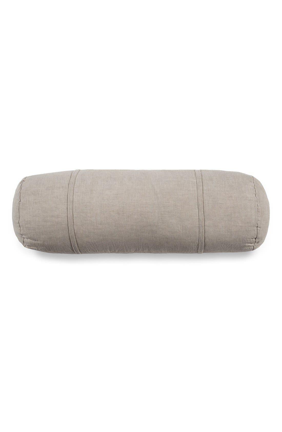 PomPomat Home 'Louwie' Bolster Pillow,                             Main thumbnail 1, color,                             281