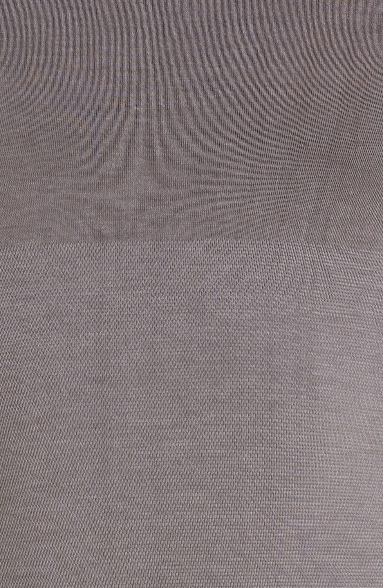 Seamlessly Shaped Convertible Camisole,                             Alternate thumbnail 5, color,                             GARGOYLE