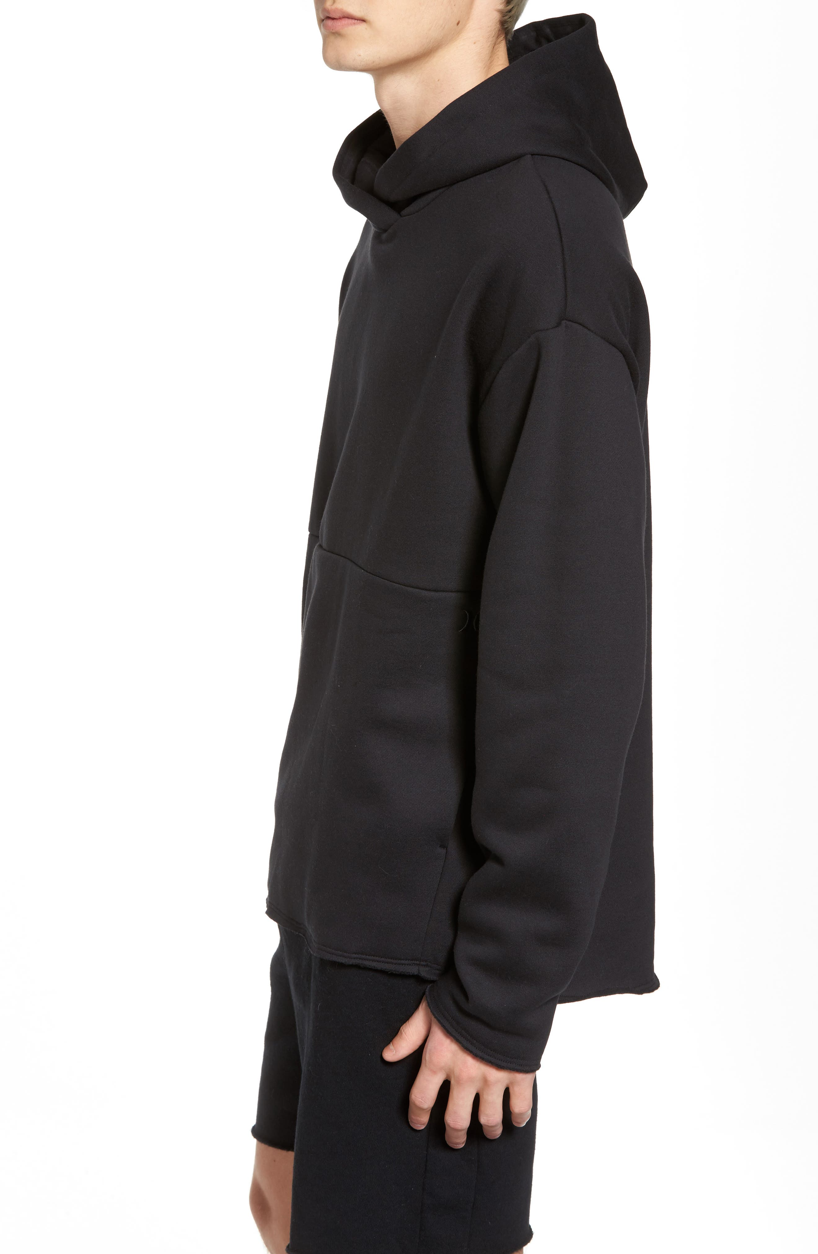 Surf Check Icon Hoodie,                             Alternate thumbnail 3, color,                             010