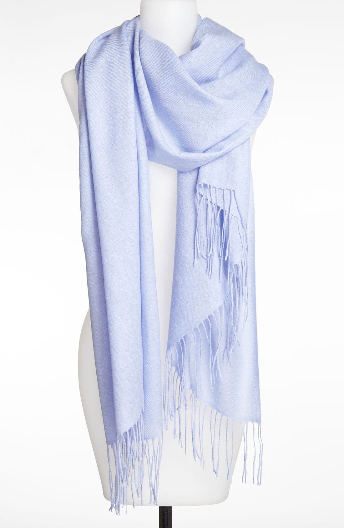 Tissue Weight Wool & Cashmere Wrap,                             Main thumbnail 111, color,