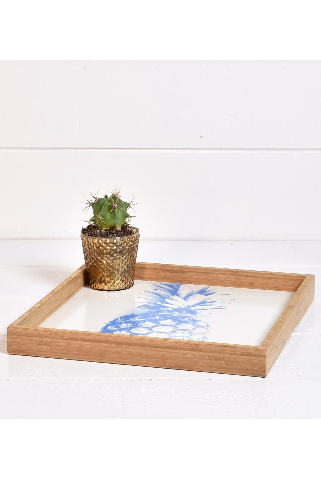 'Pineapple' Decorative Serving Tray,                             Alternate thumbnail 2, color,                             400