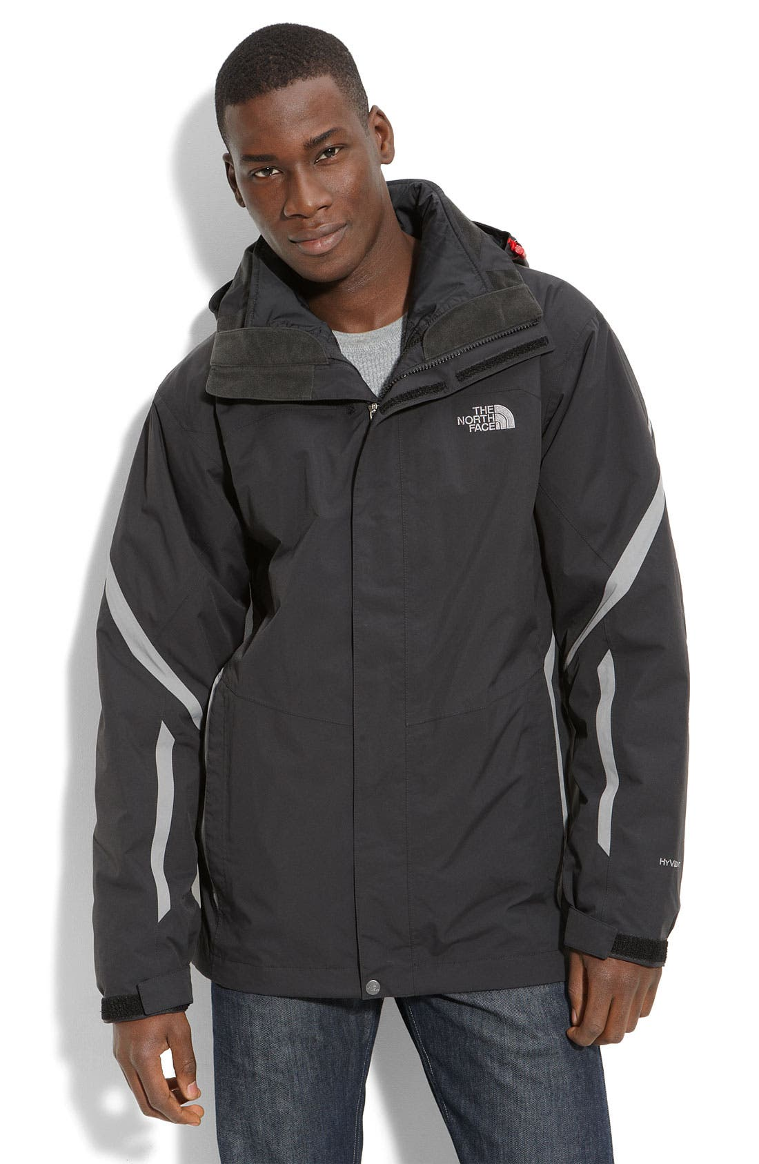 THE NORTH FACE,                             'Tilithium' TriClimate<sup>®</sup> 3-in-1 Jacket,                             Main thumbnail 1, color,                             001