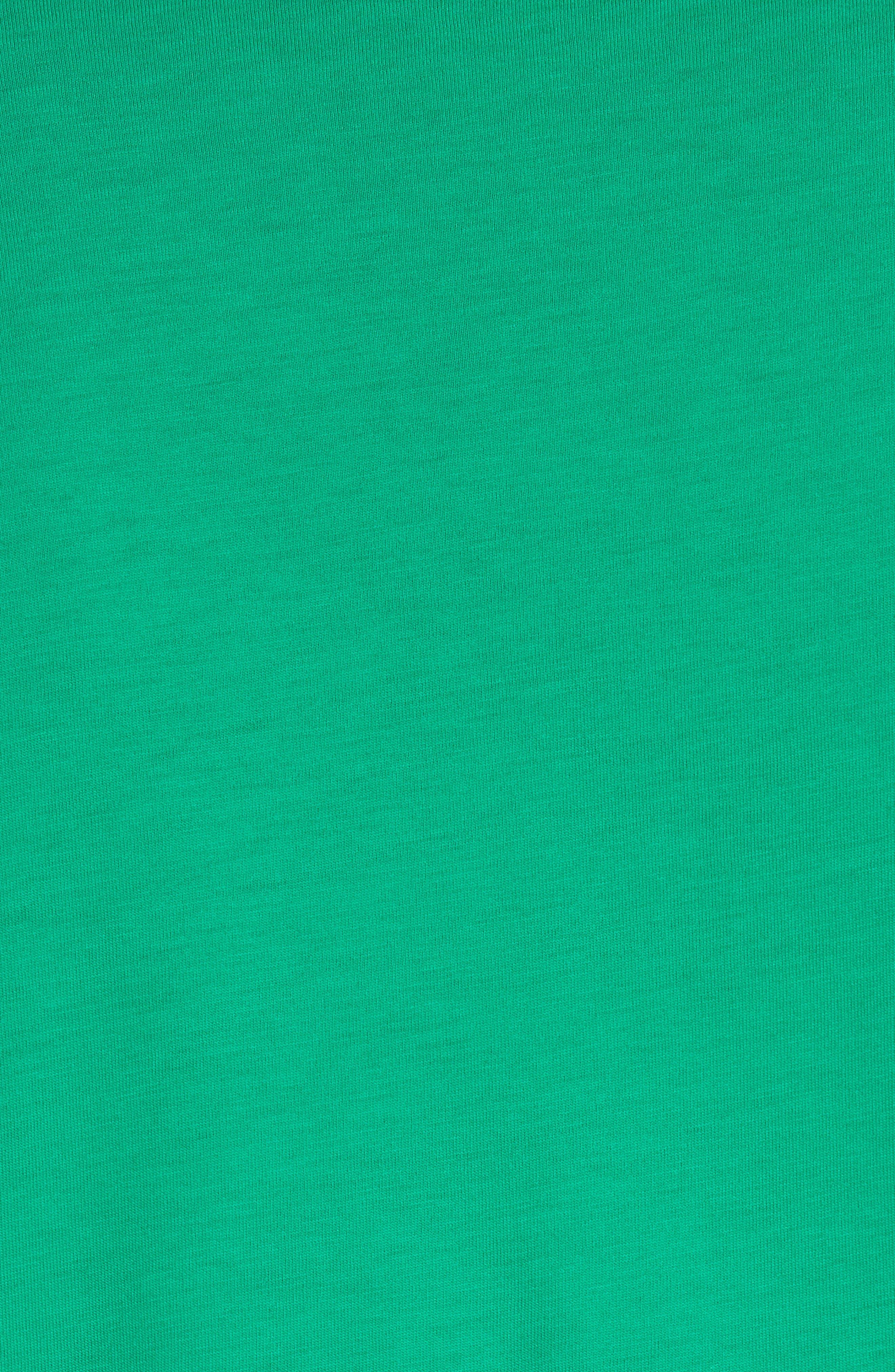 Jadford V-Neck T-Shirt,                             Alternate thumbnail 5, color,                             BRIGHT GREEN