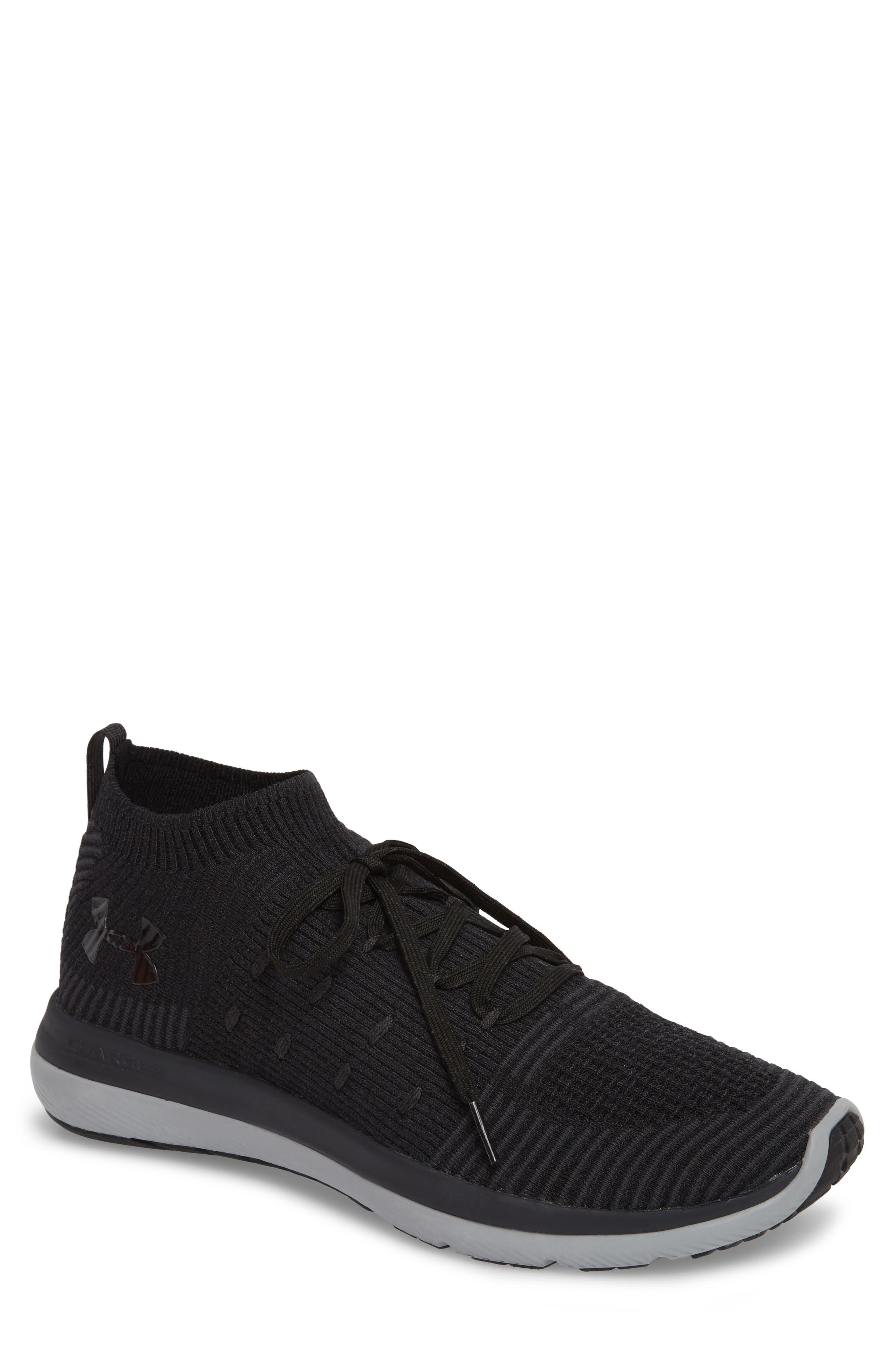 Slingflex Rise Sneaker,                         Main,                         color, BLACK / ANTHRACITE / BLACK